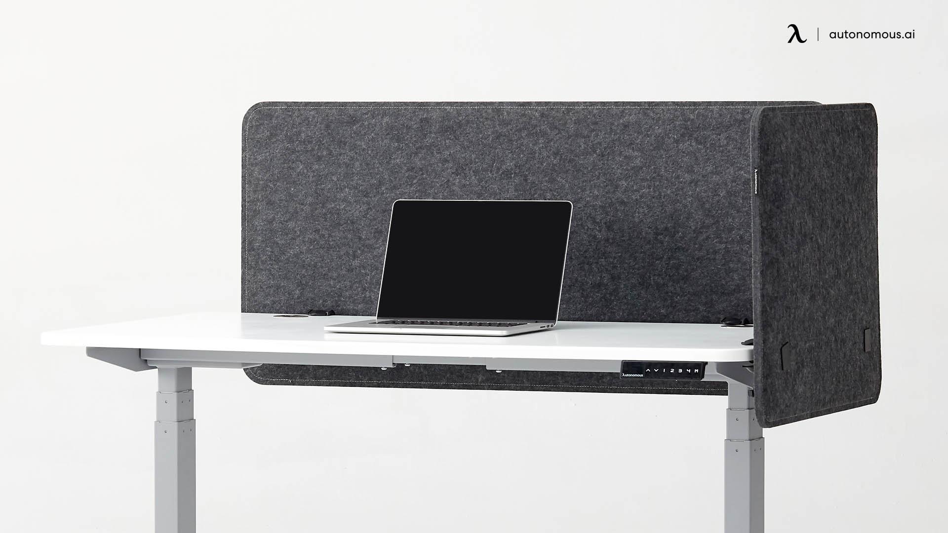 Standing desk accessory - Privacy panel