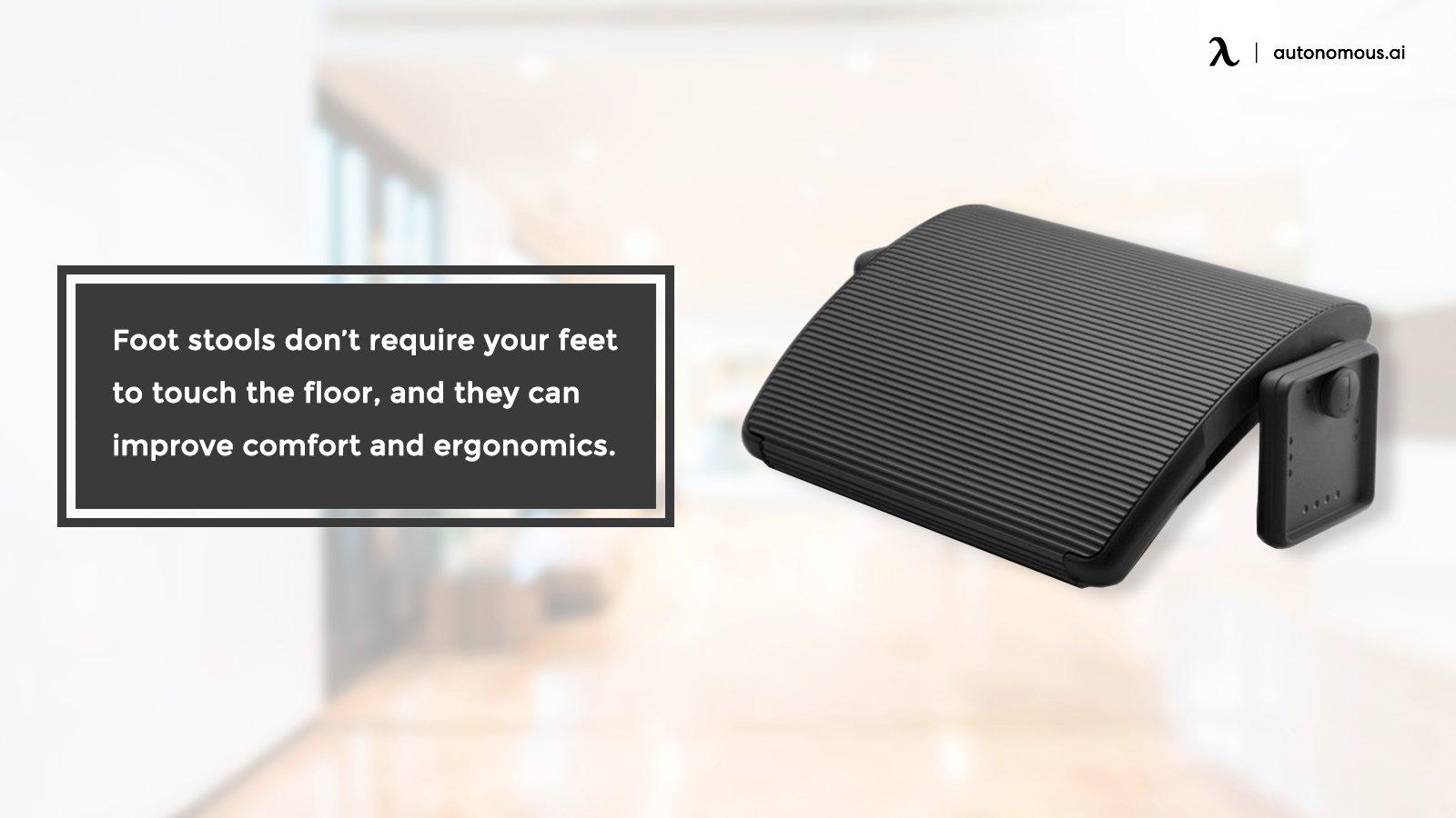 Foot stool for ergonomics and comfort