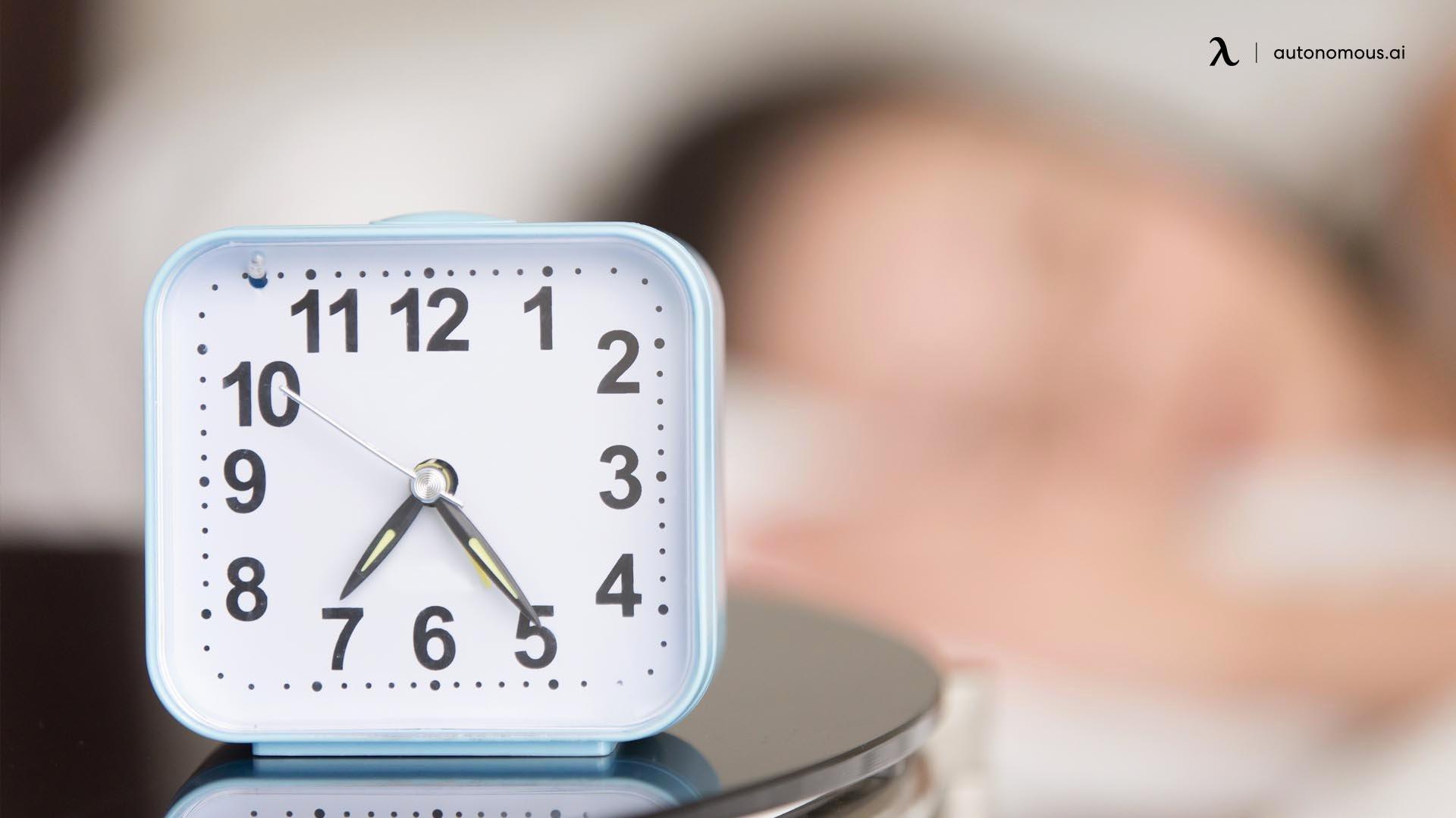 Times to sleep you need each night