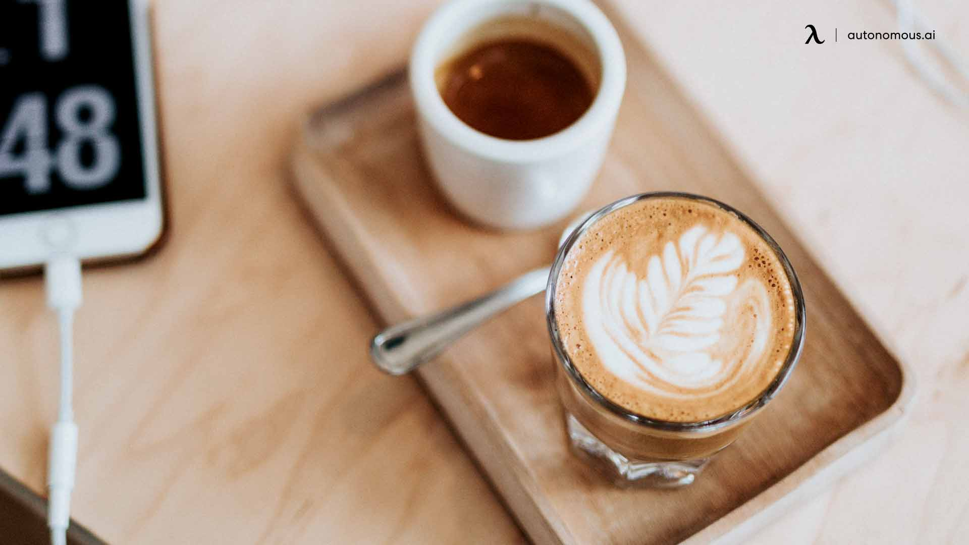 lay off the caffeine