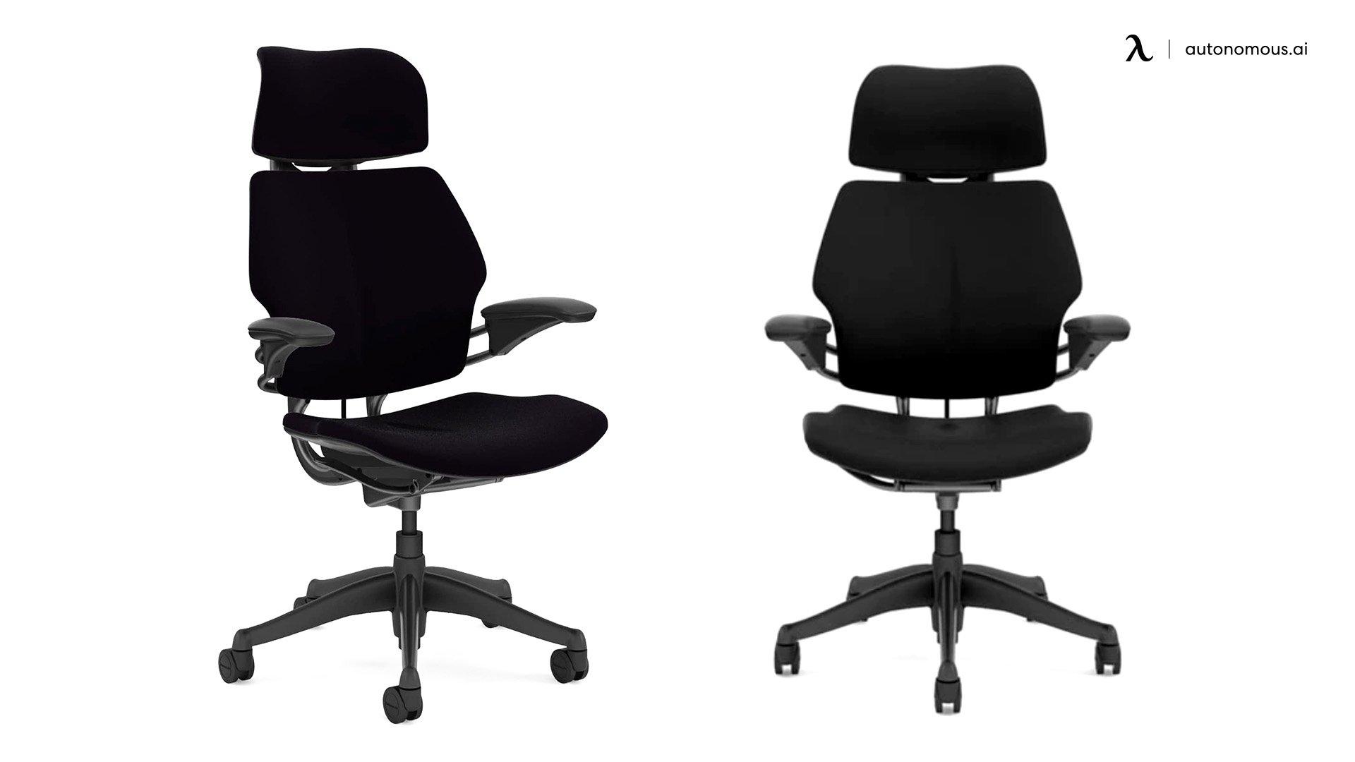 Humanscale Freedom Task Swivel Ergonomic Chair for Back Pain