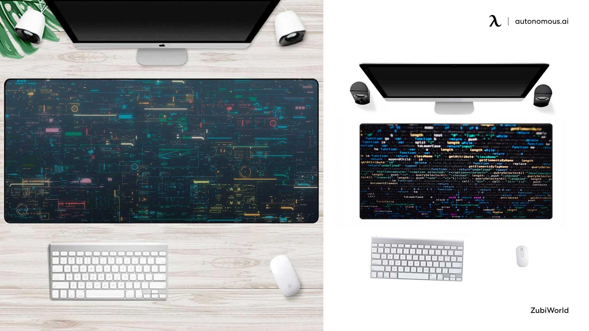 Coding desk cover
