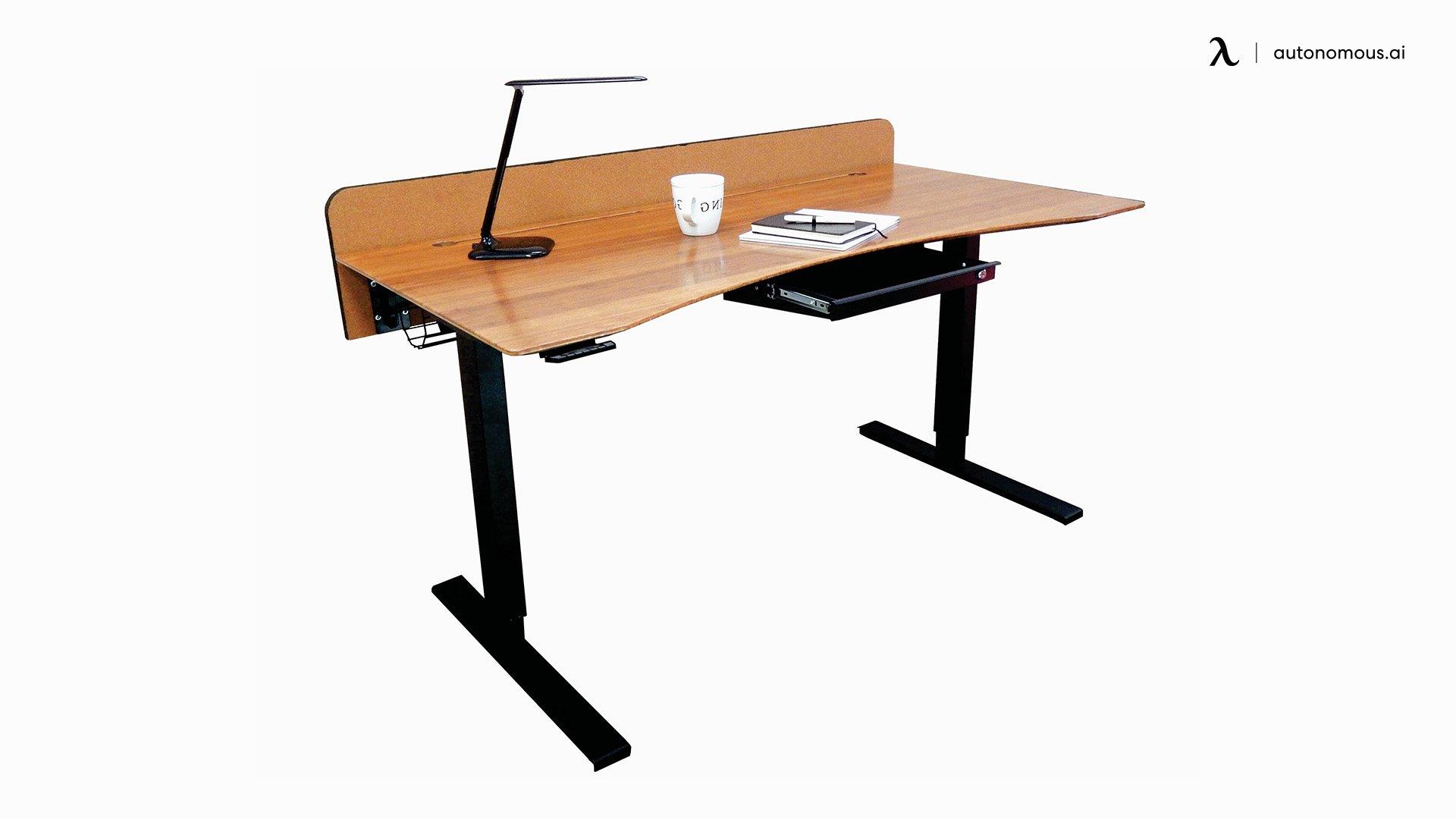 Bamboo standing desk by Frasch