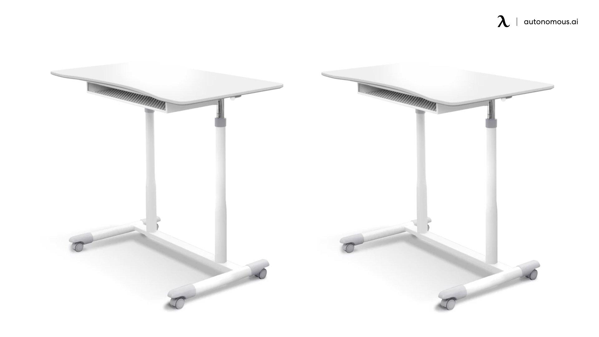 Albin white standing desk