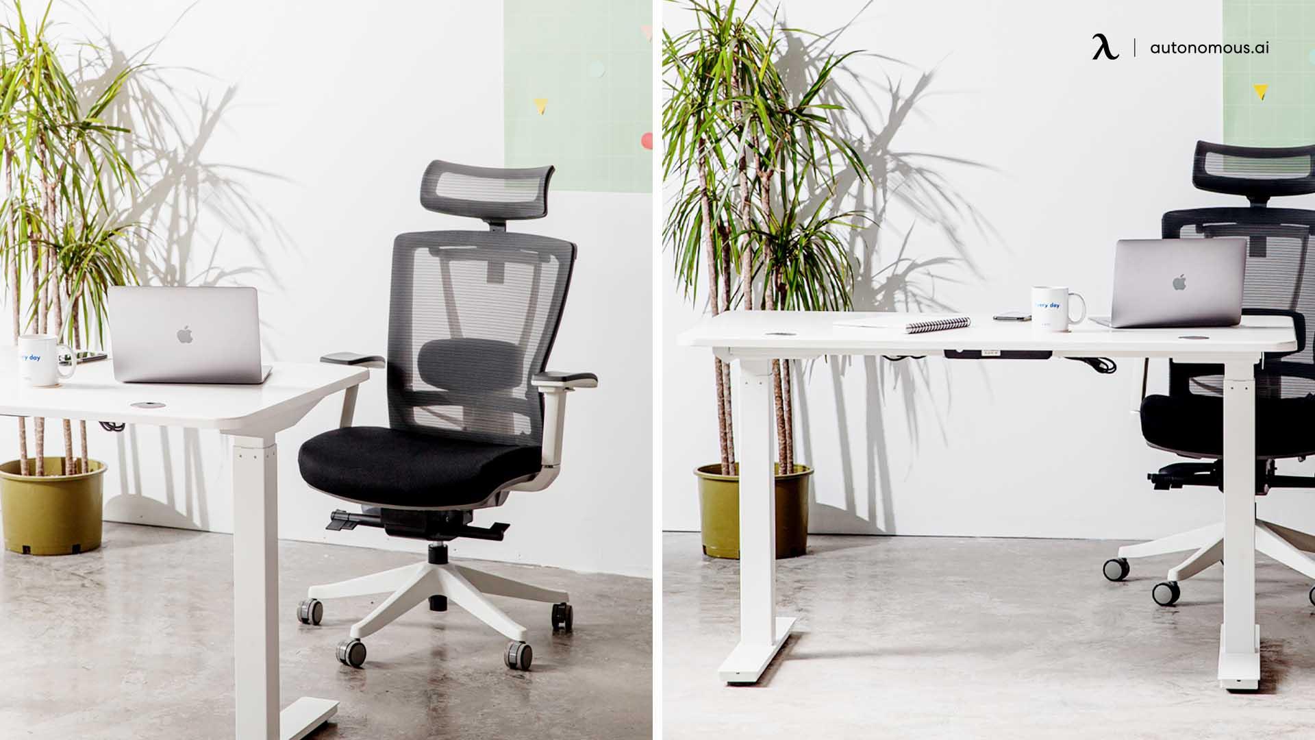 Buy an Ergonomic Chair and a SmartDesk