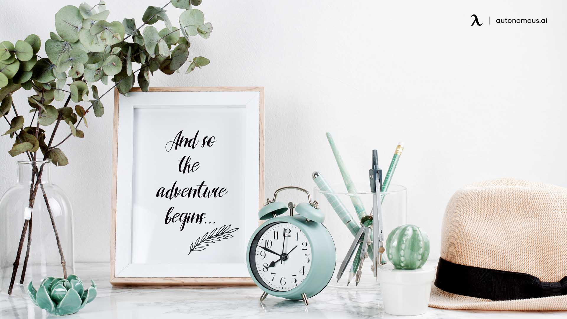 Use Pictures/Quotes to Inspire