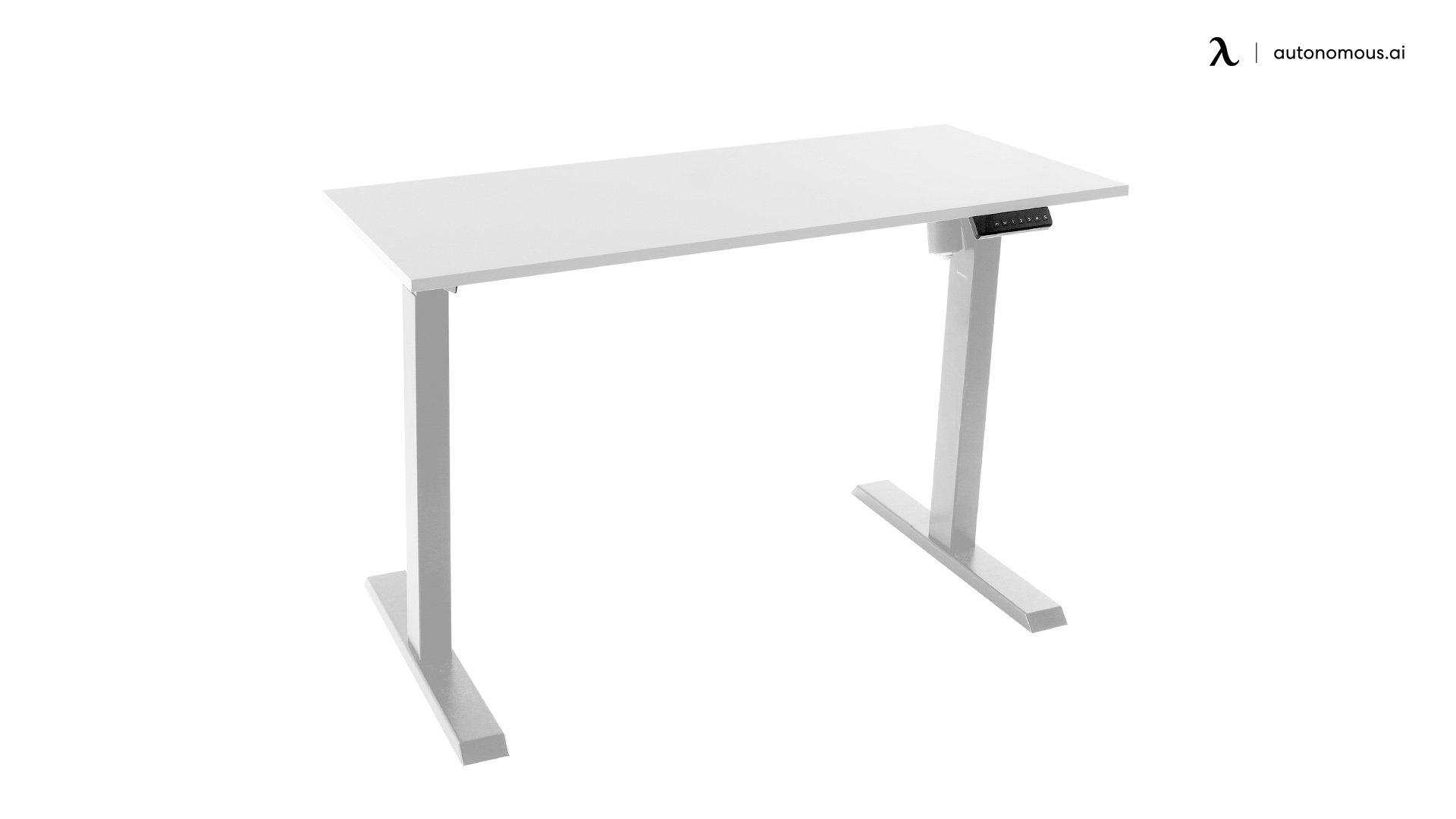 Reversible White Standing Desk