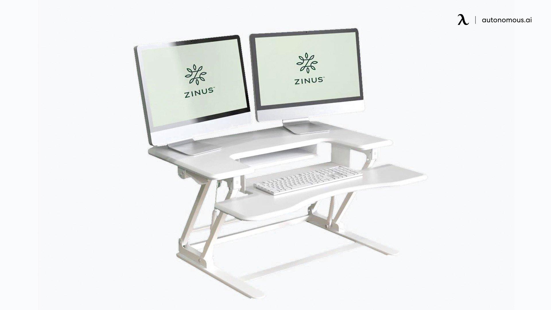 Tamara White Standing Desk