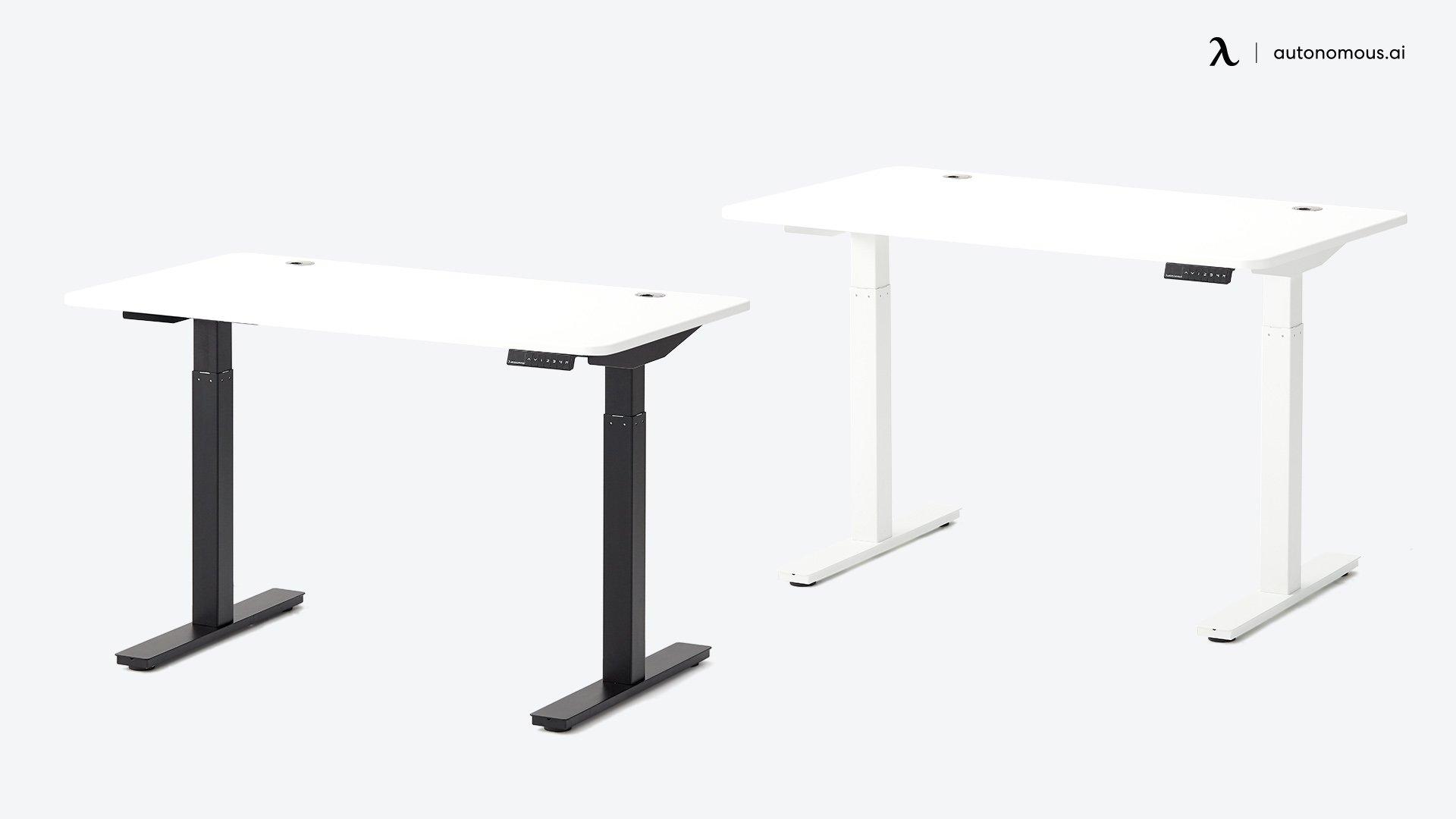 SmartDesk white DIY standing desk