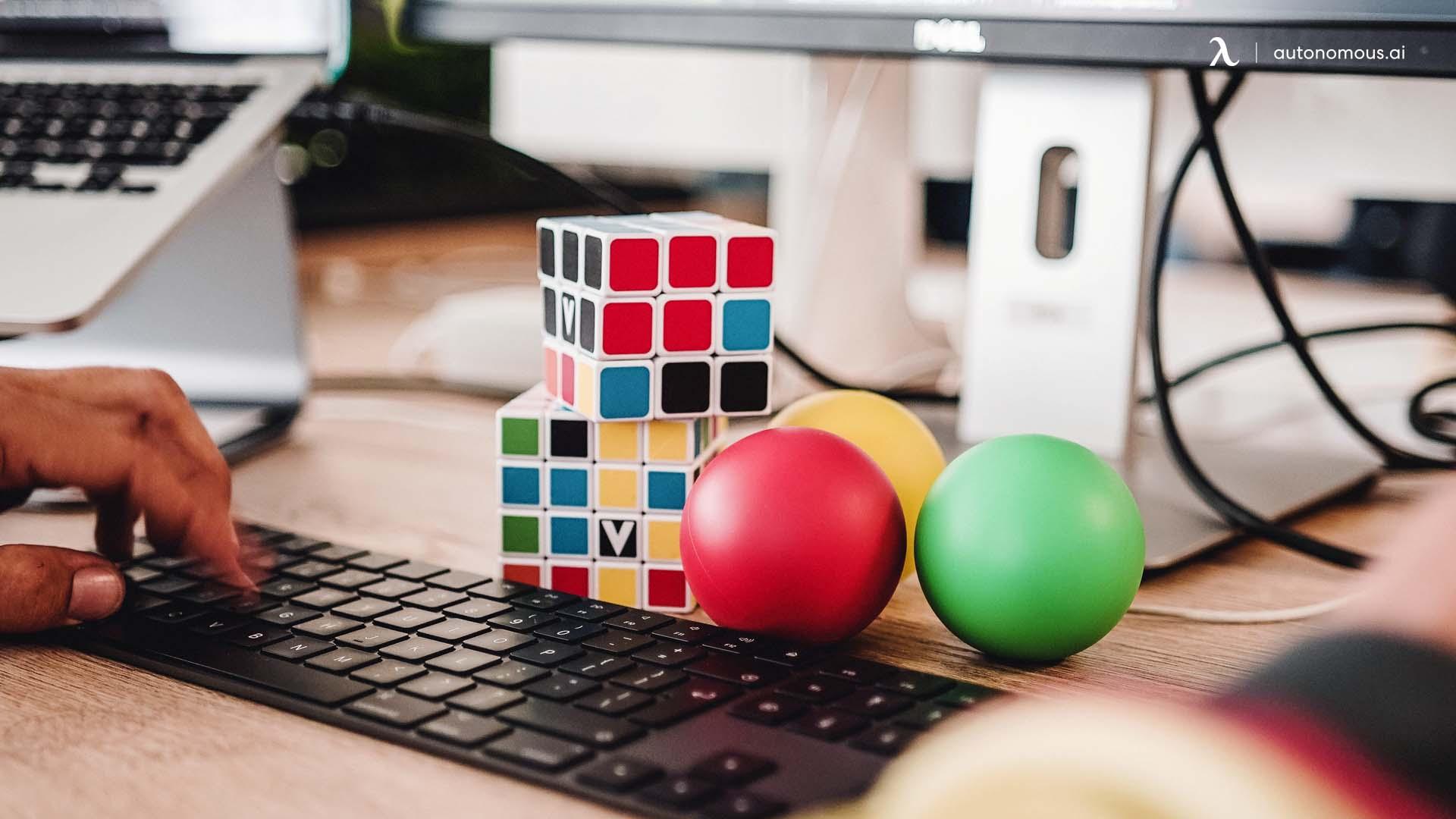 Stress Balls or Game Cubes