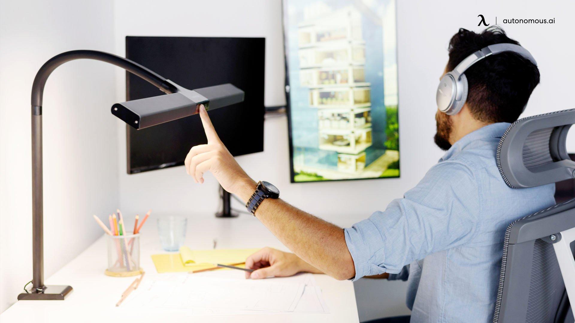 Ultra-Wide LED Desk Lamp