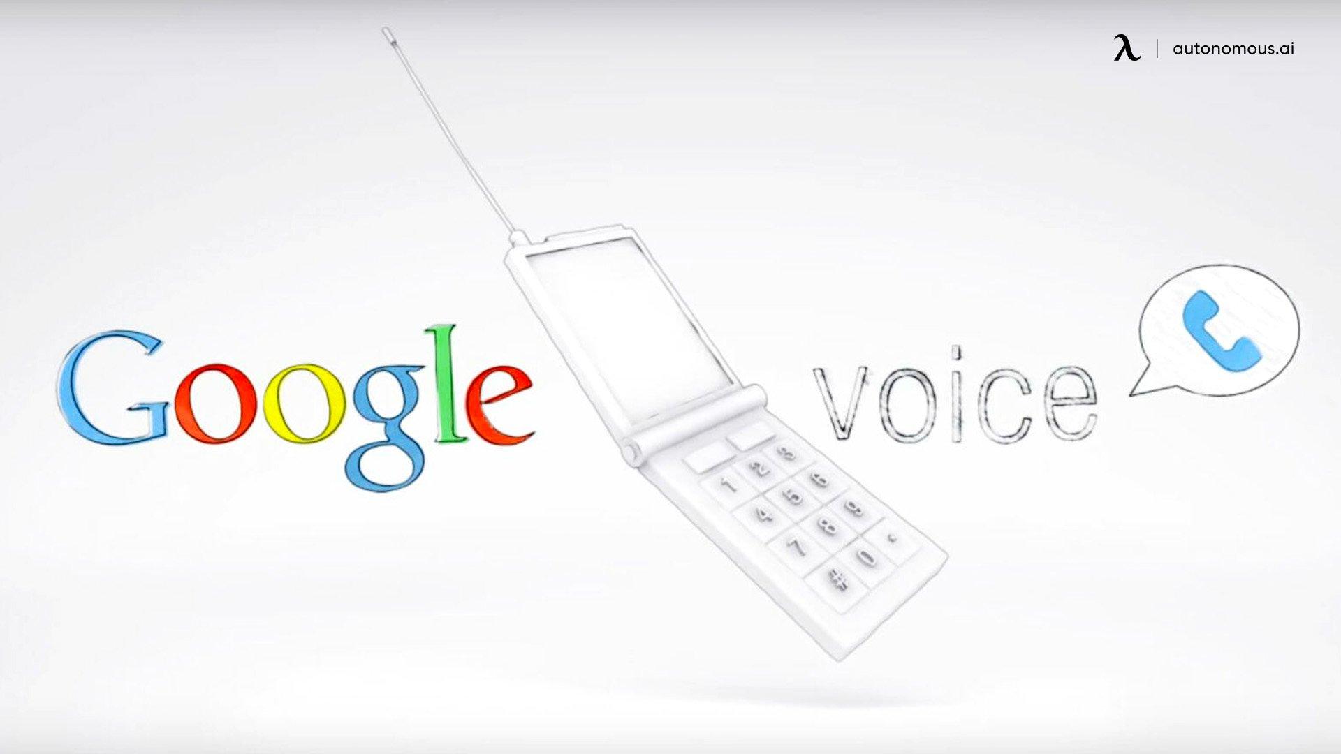 Google voice transcription