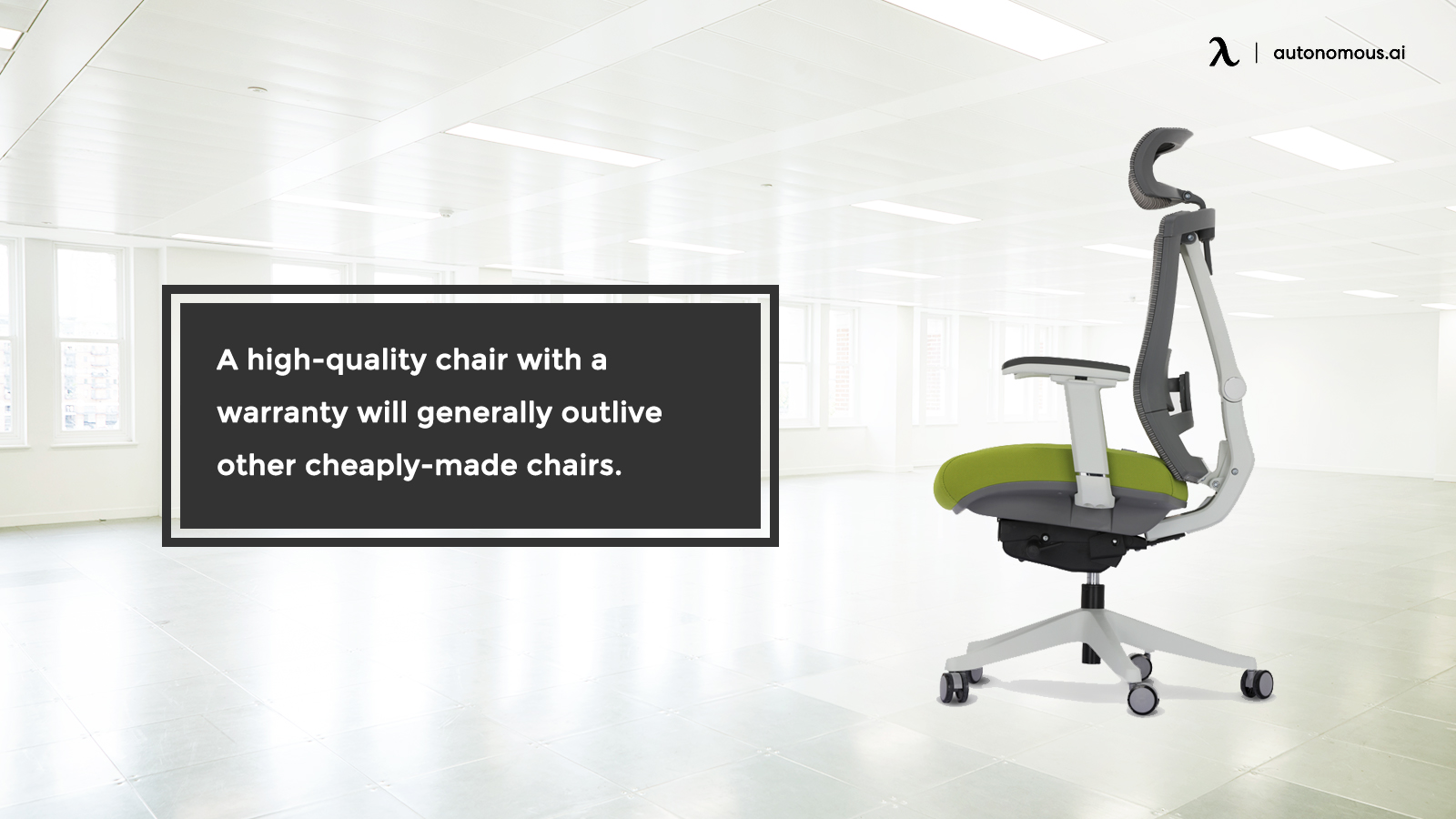 High quality chair warranty
