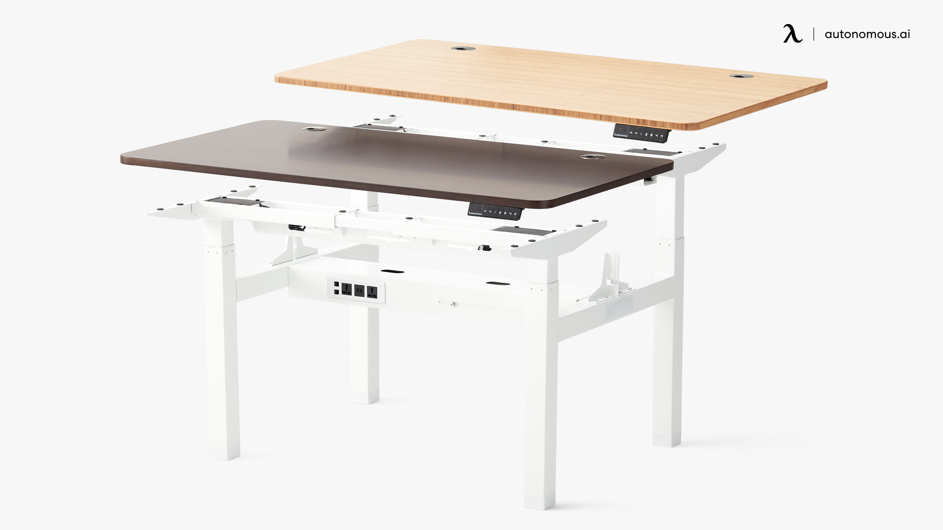 DIY Double Desk
