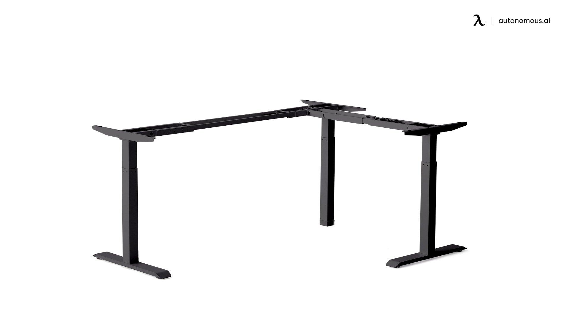 L-shaped Standing Desk Frame from Autonomous