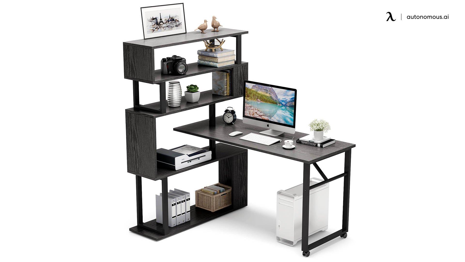 Inbox Zero Reversible L-shaped Desk