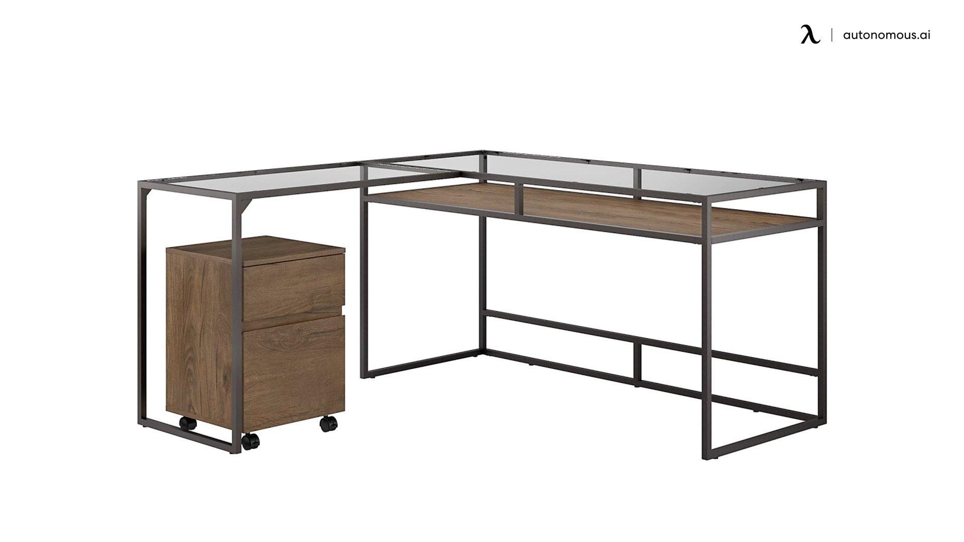 Bush Furniture Anthropology L-Shaped Desk