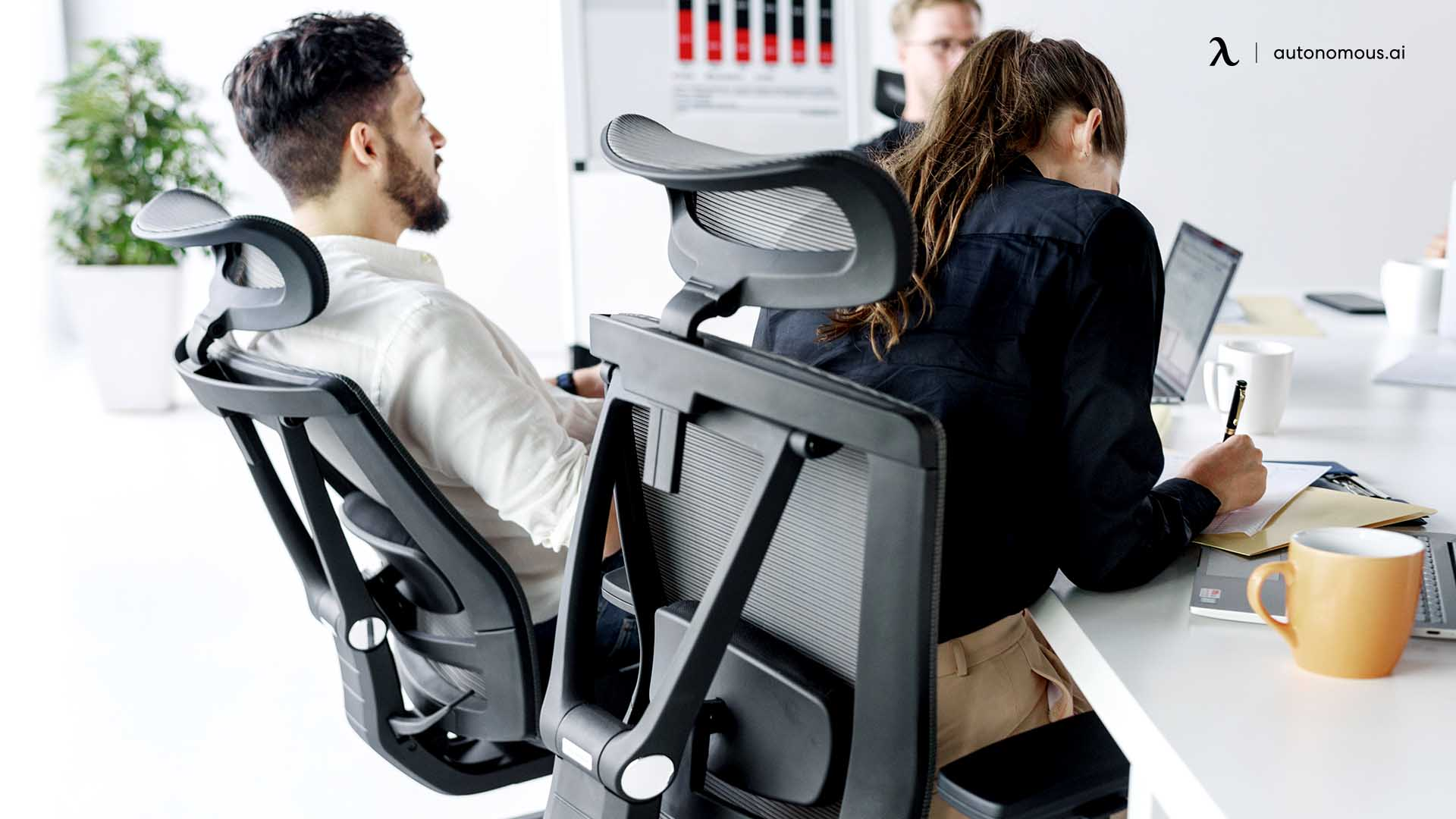 Mesh Office Chair Support