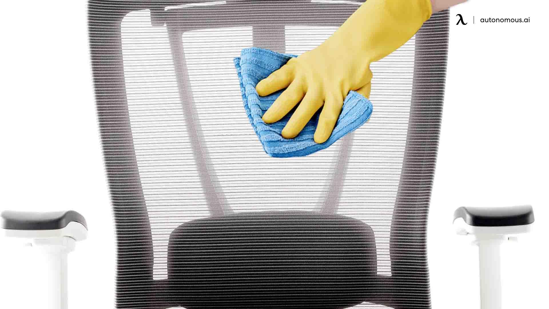 Step 2 clean mesh office chair
