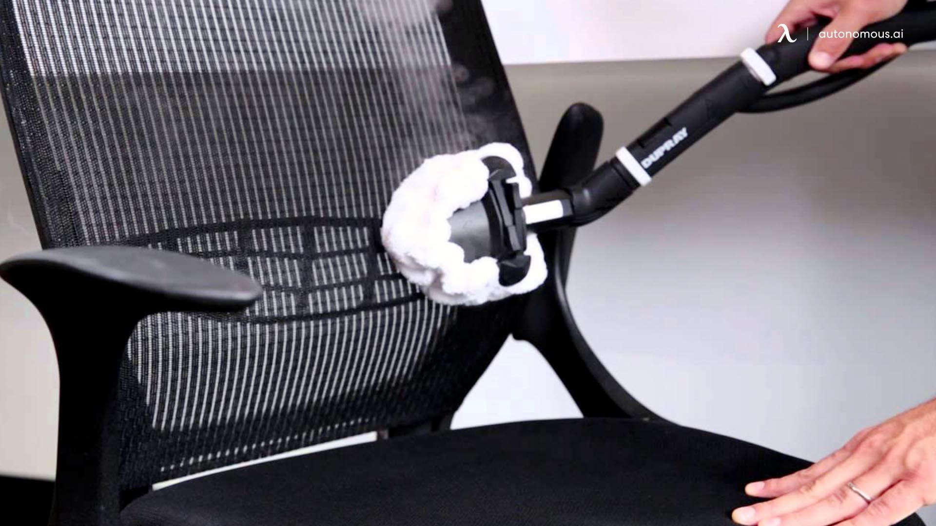 Step 4 clean mesh office chair