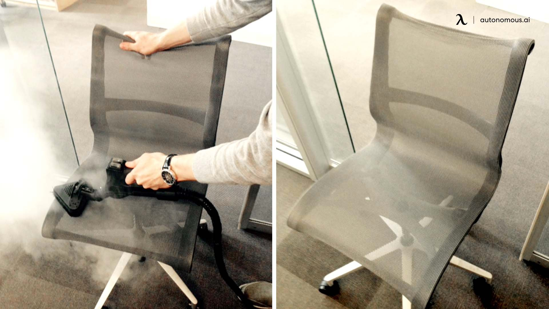Step 5 clean mesh office chair