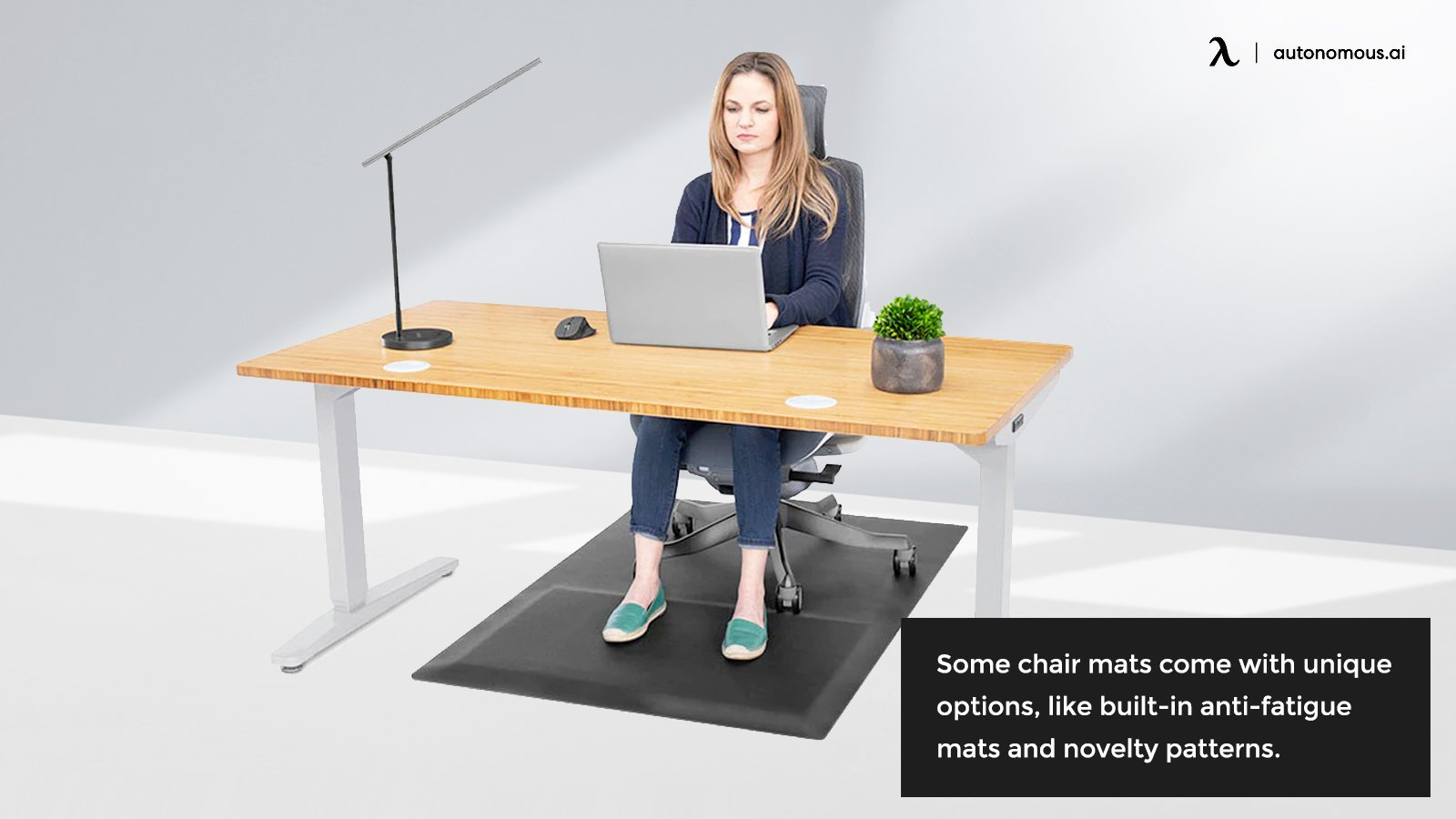 Unique chair mats and features