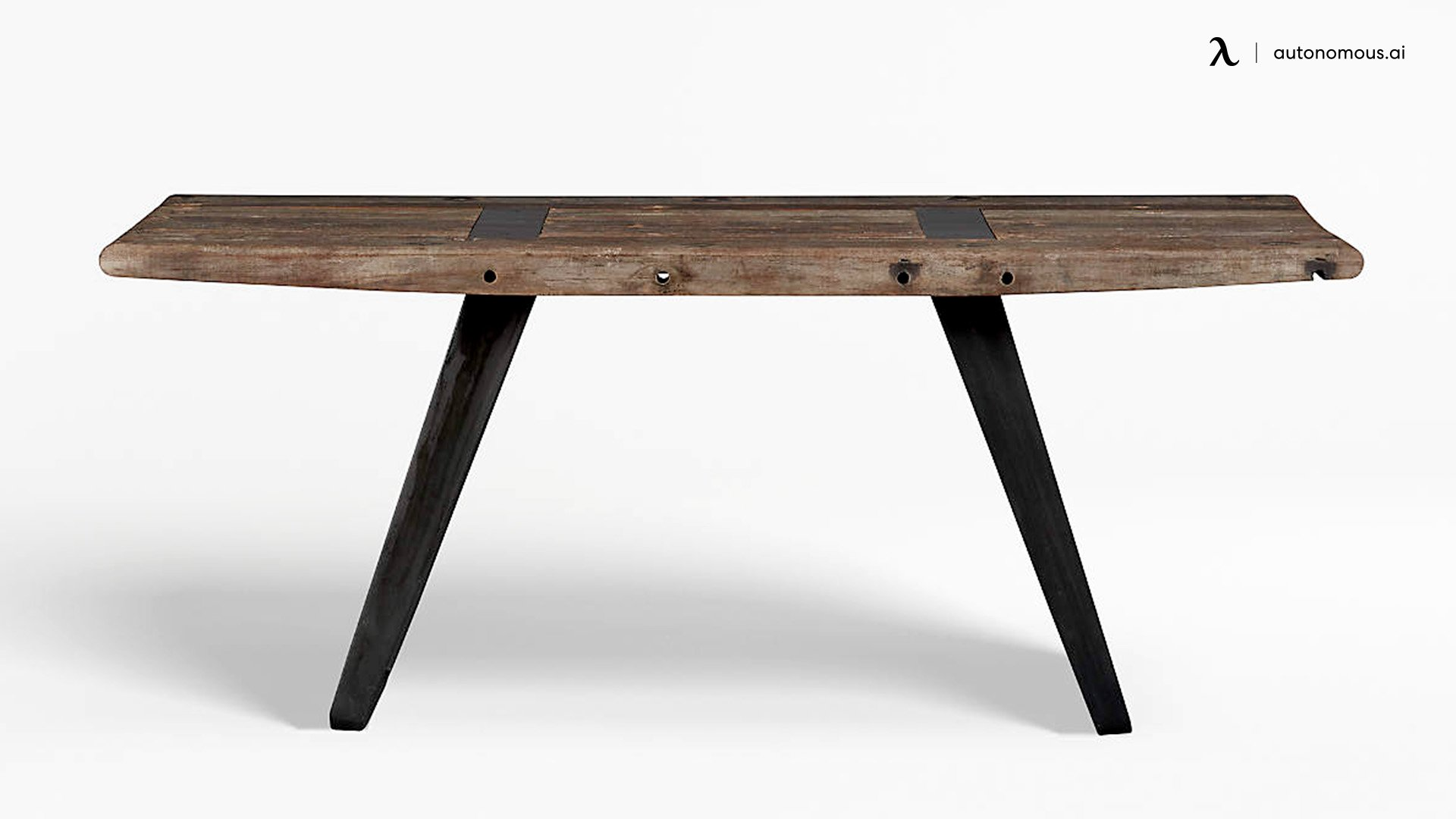 The Phoenix Rustic Wood Work Table