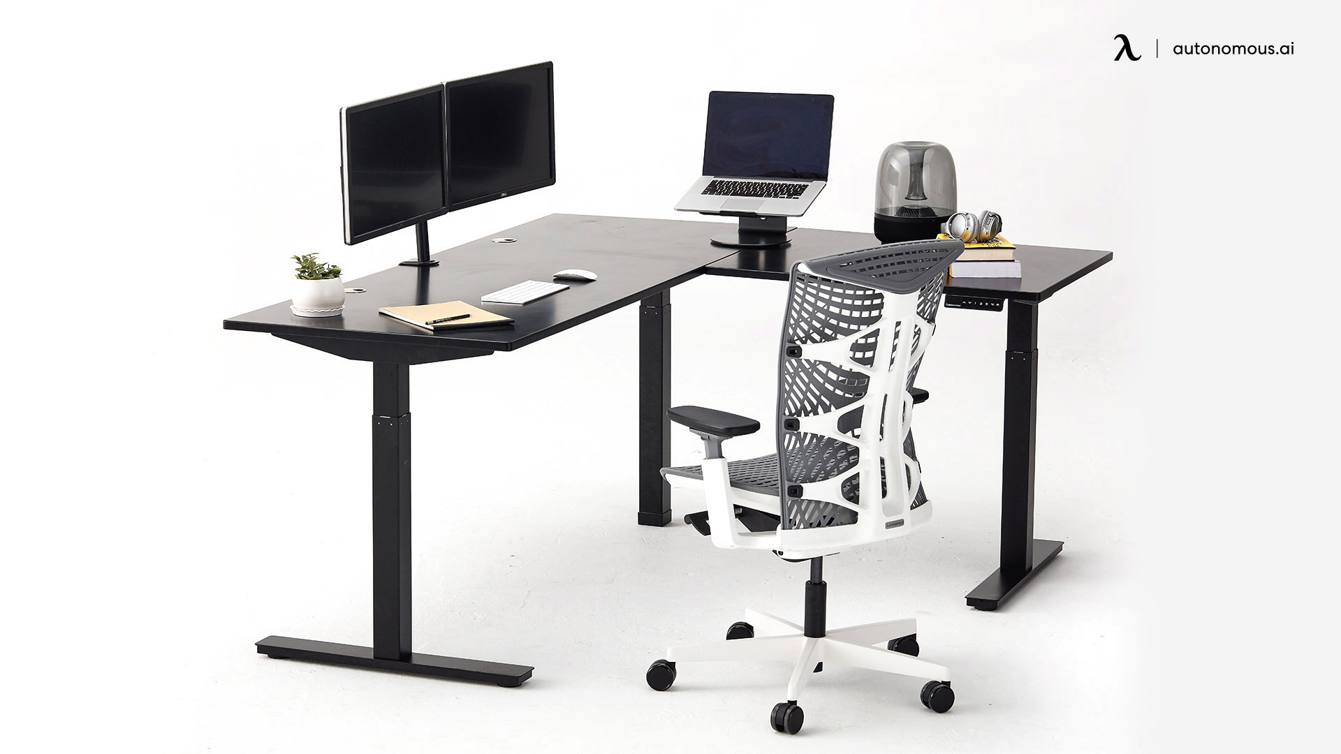 The L-shaped Smart Desk