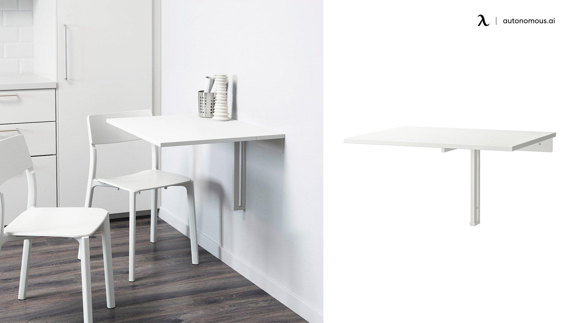 IKEA Norberg Wall-Mounted Desk