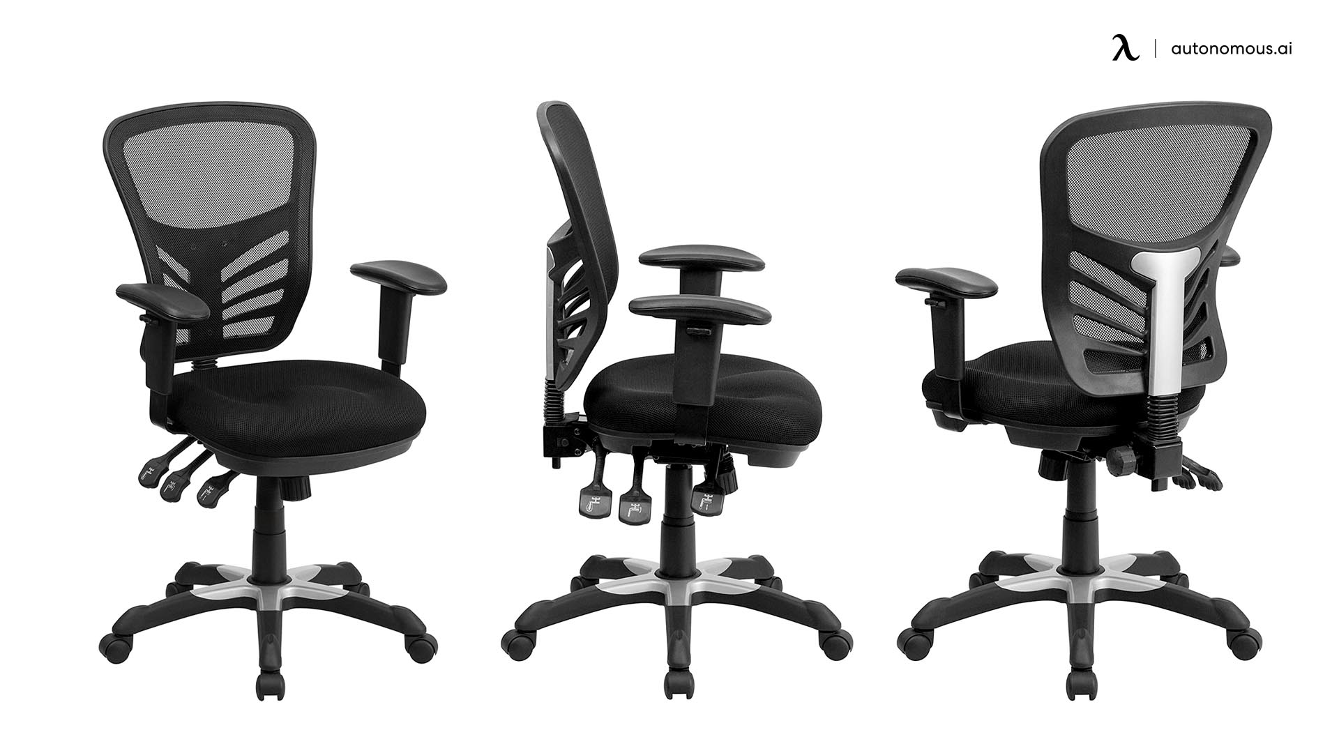 The Flash Furniture Mid-back Drafting Chair