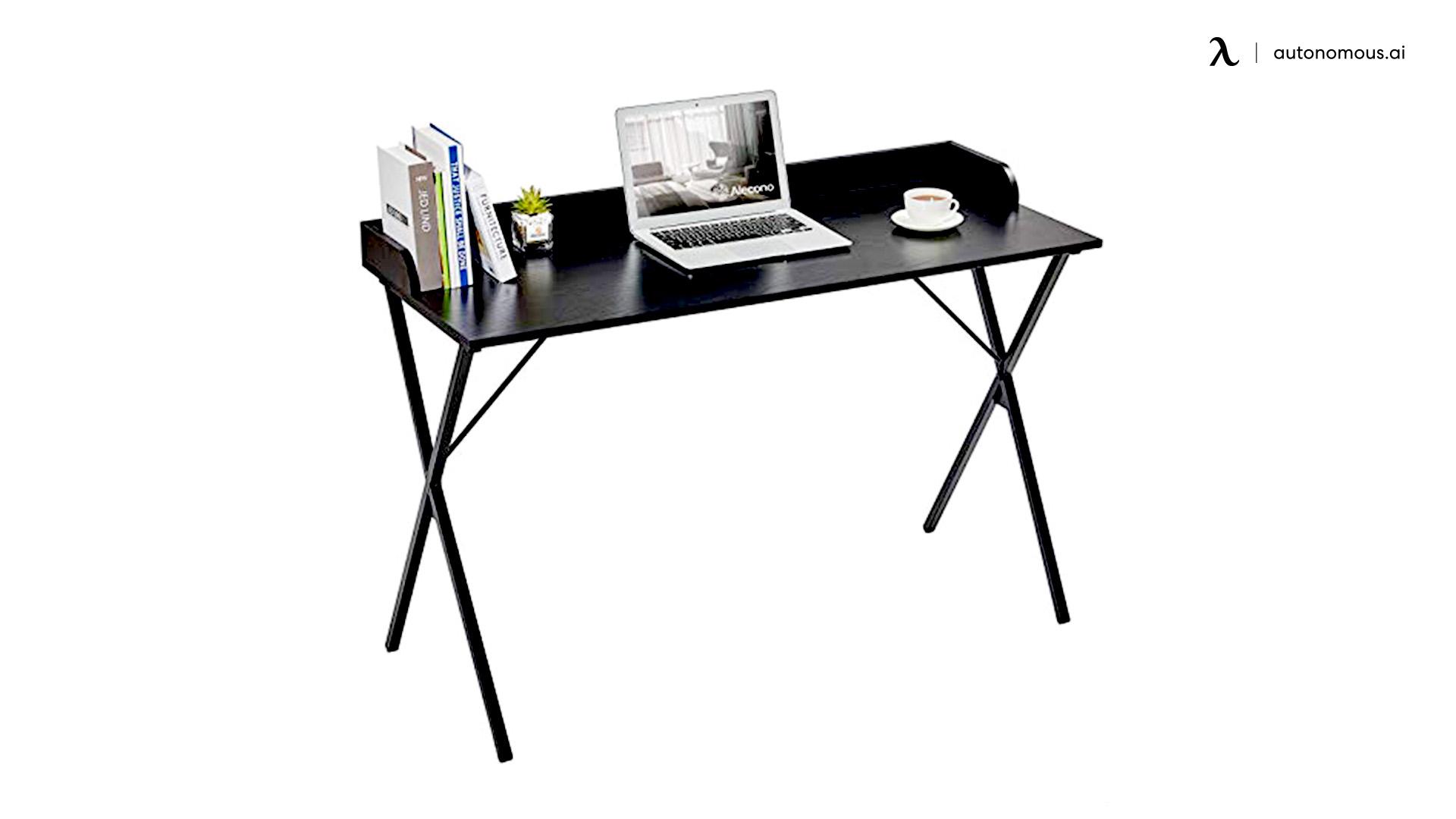 "47"" Computer Desk with Raised Edge"