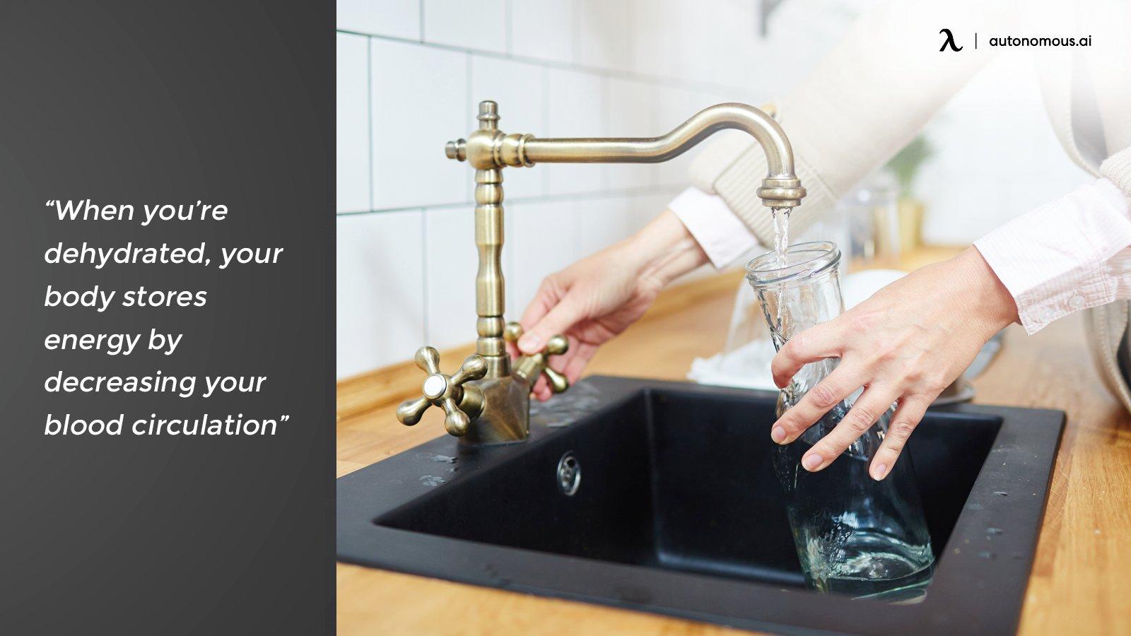 Dehydration and circulation