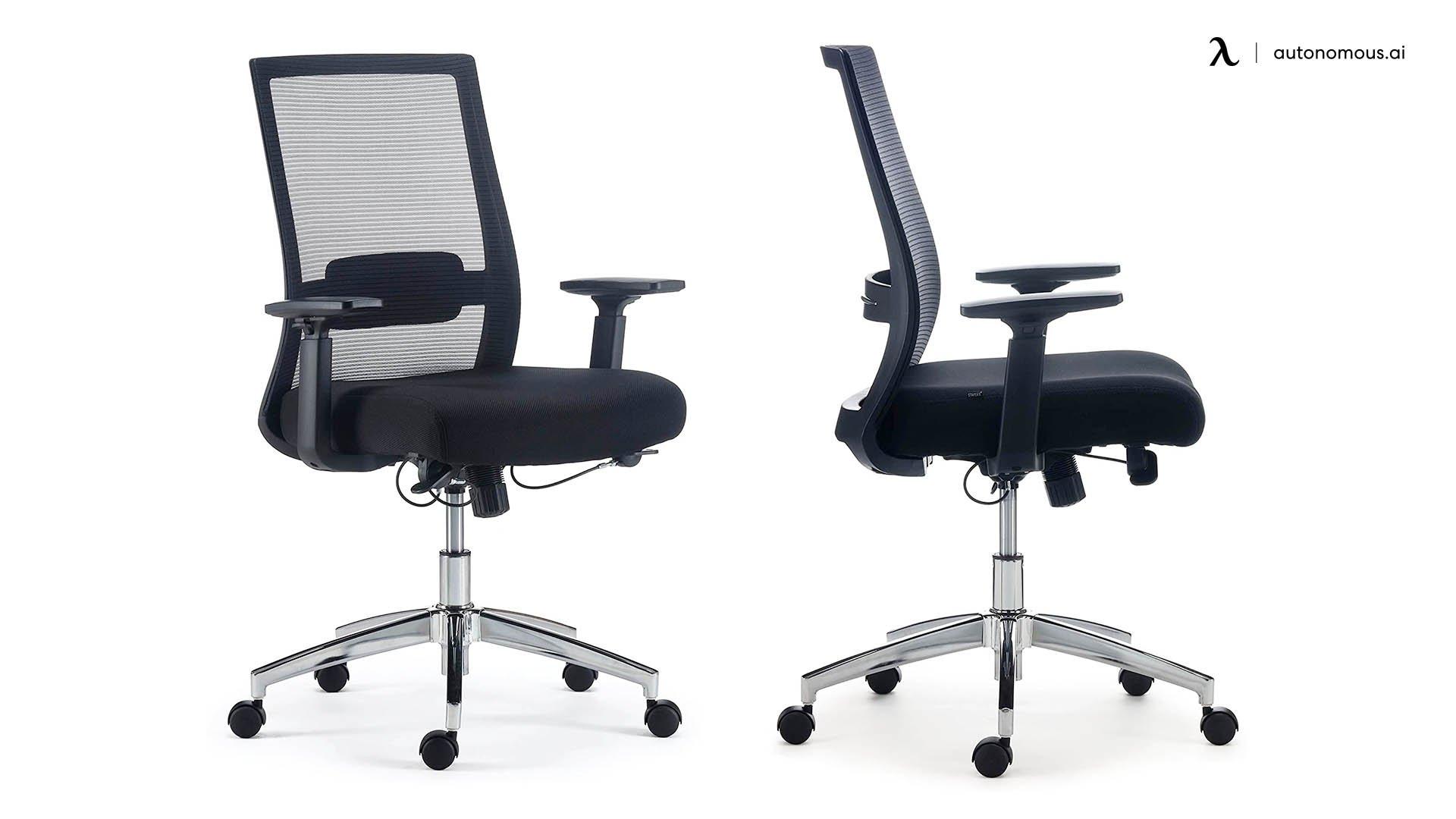 Staples Marrett Fabric and Mesh Cheap Office Chair