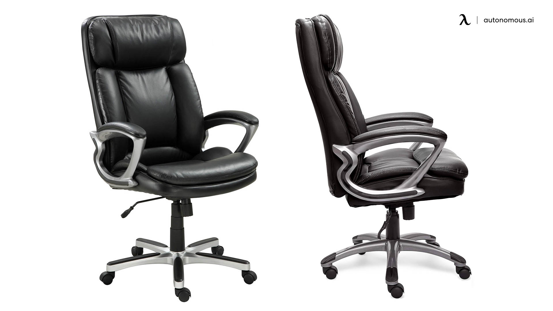 Serta Faux Big and Tall Executive Cheap Office Chair