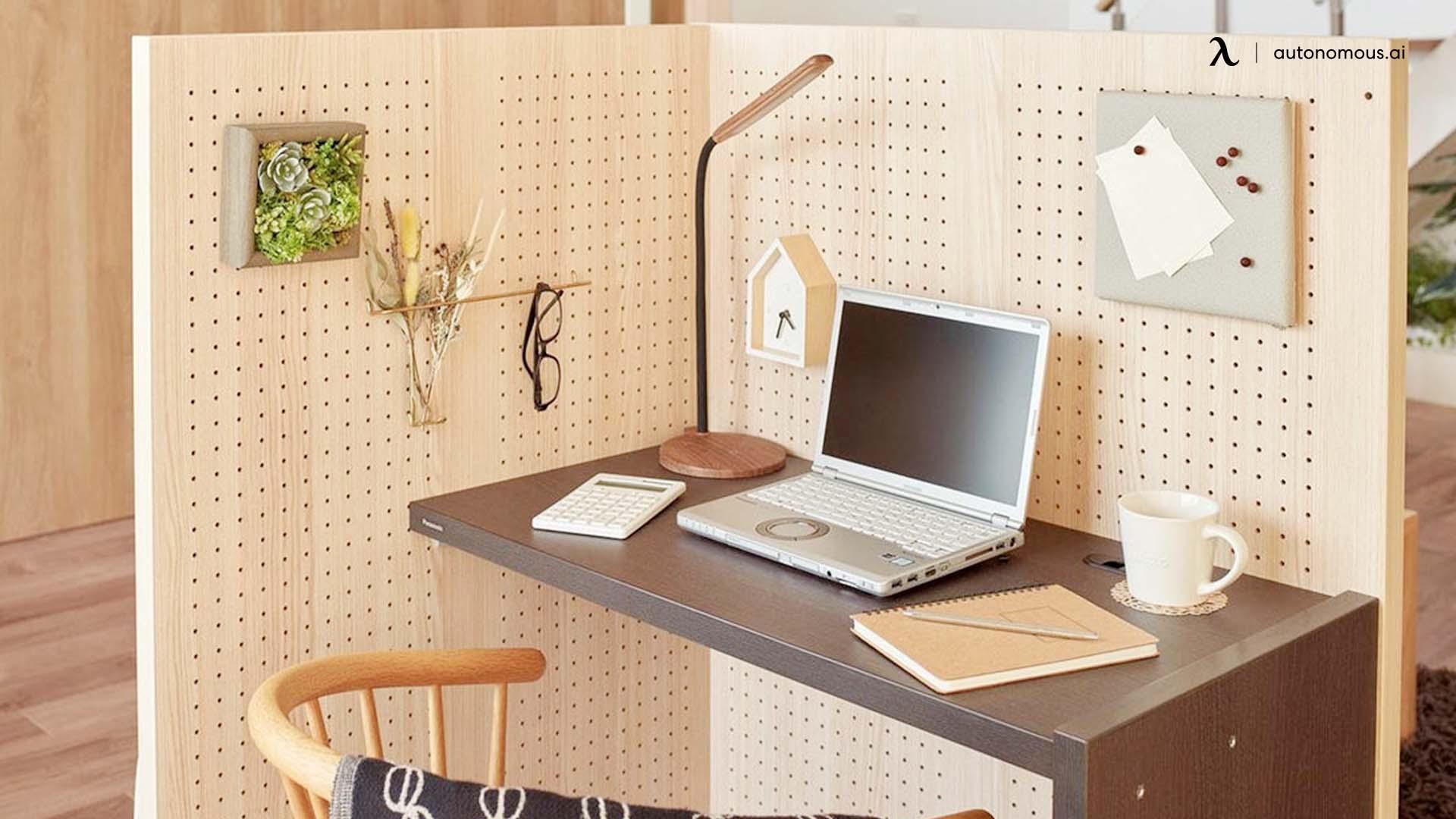 DIY Cubicle Desk