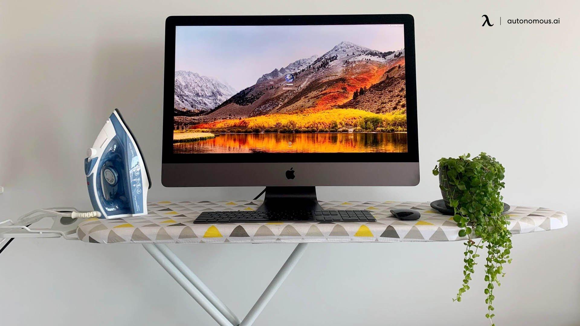 Ironing Board Standing Desk
