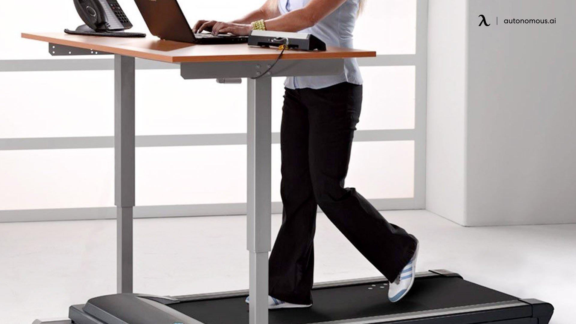 The Active Treadmill Desk
