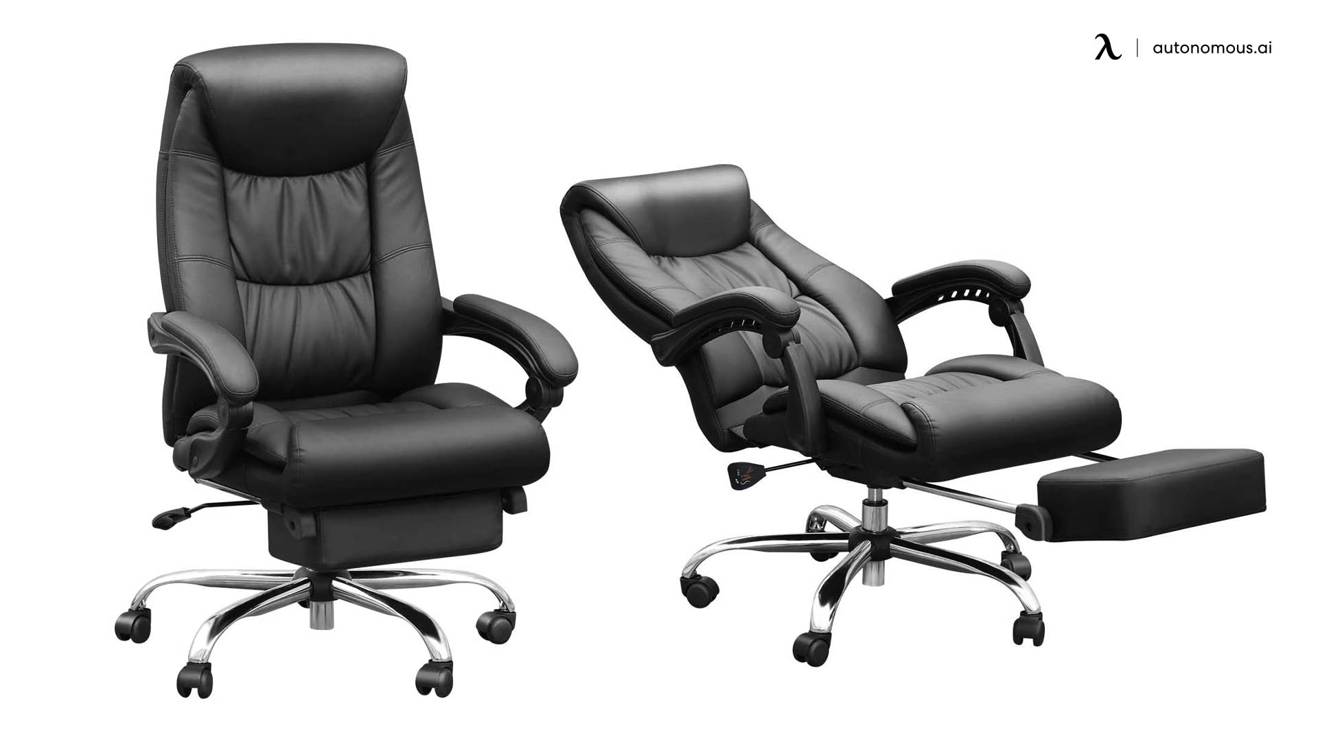 Duramount Reclining Office Chair with Footrest