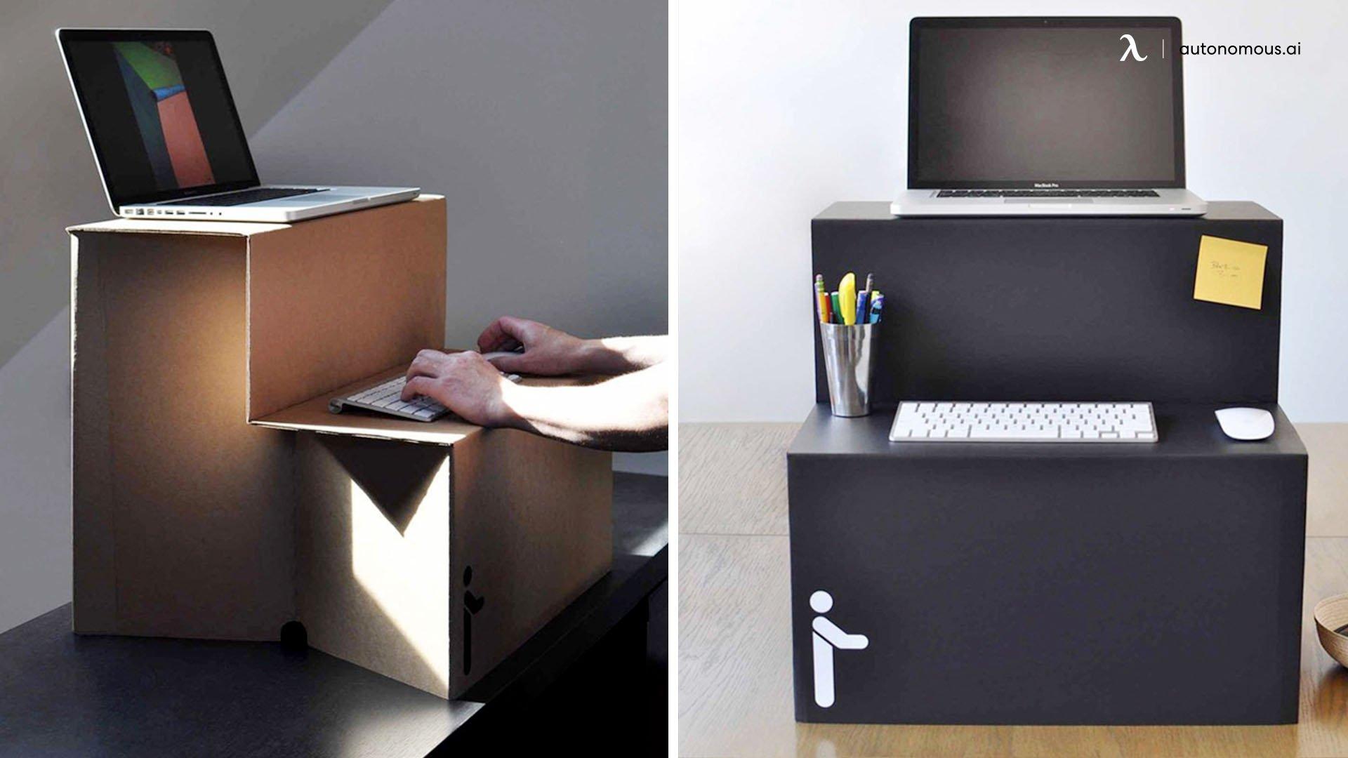 Cardboard Standing Desk