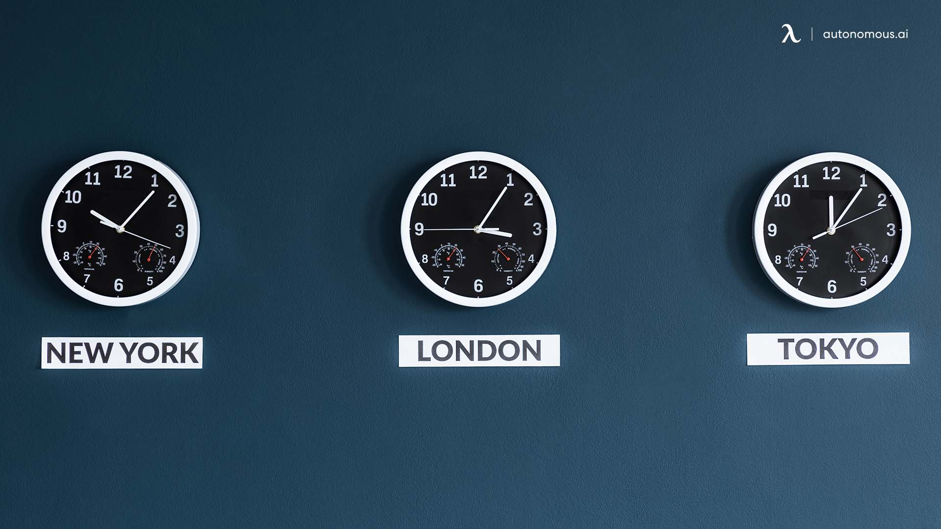 You don't consider time zones