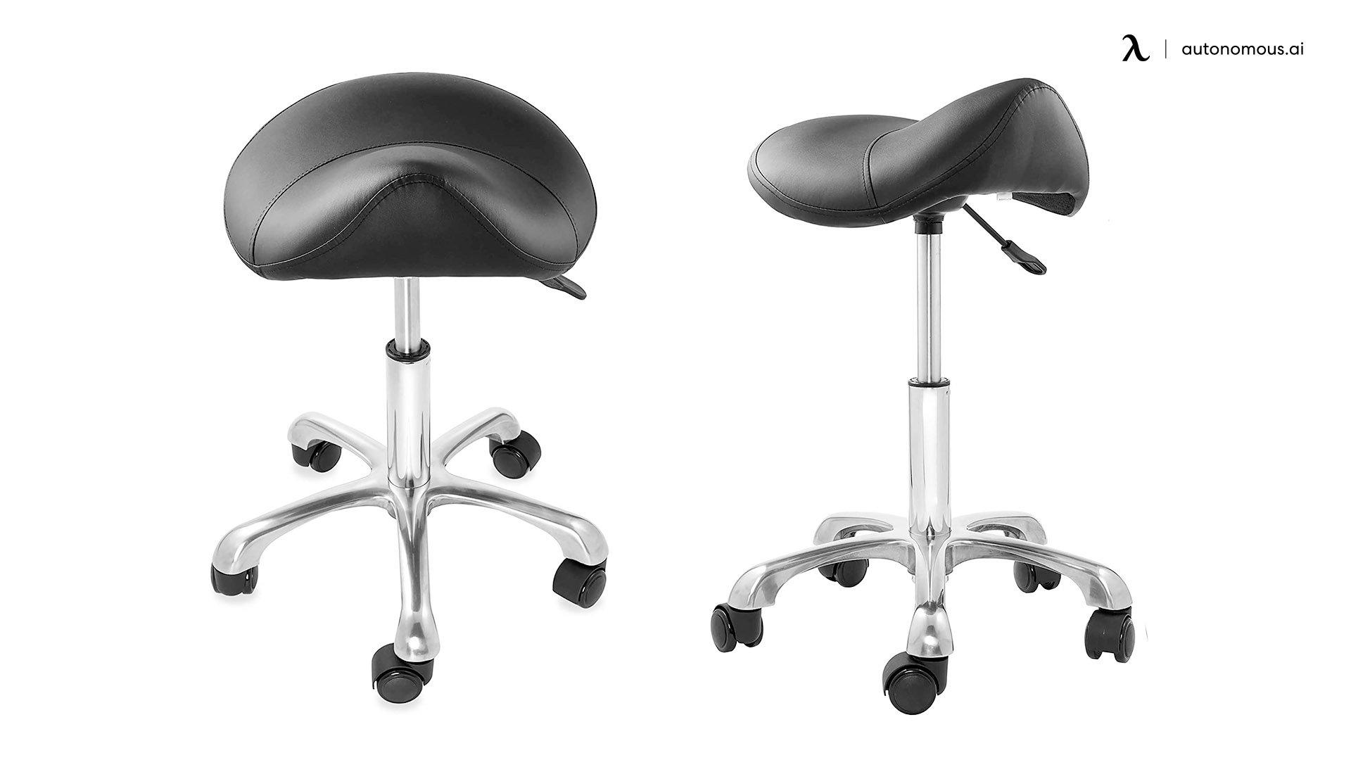 Saloniture Professional Ergonomic Saddle Stool