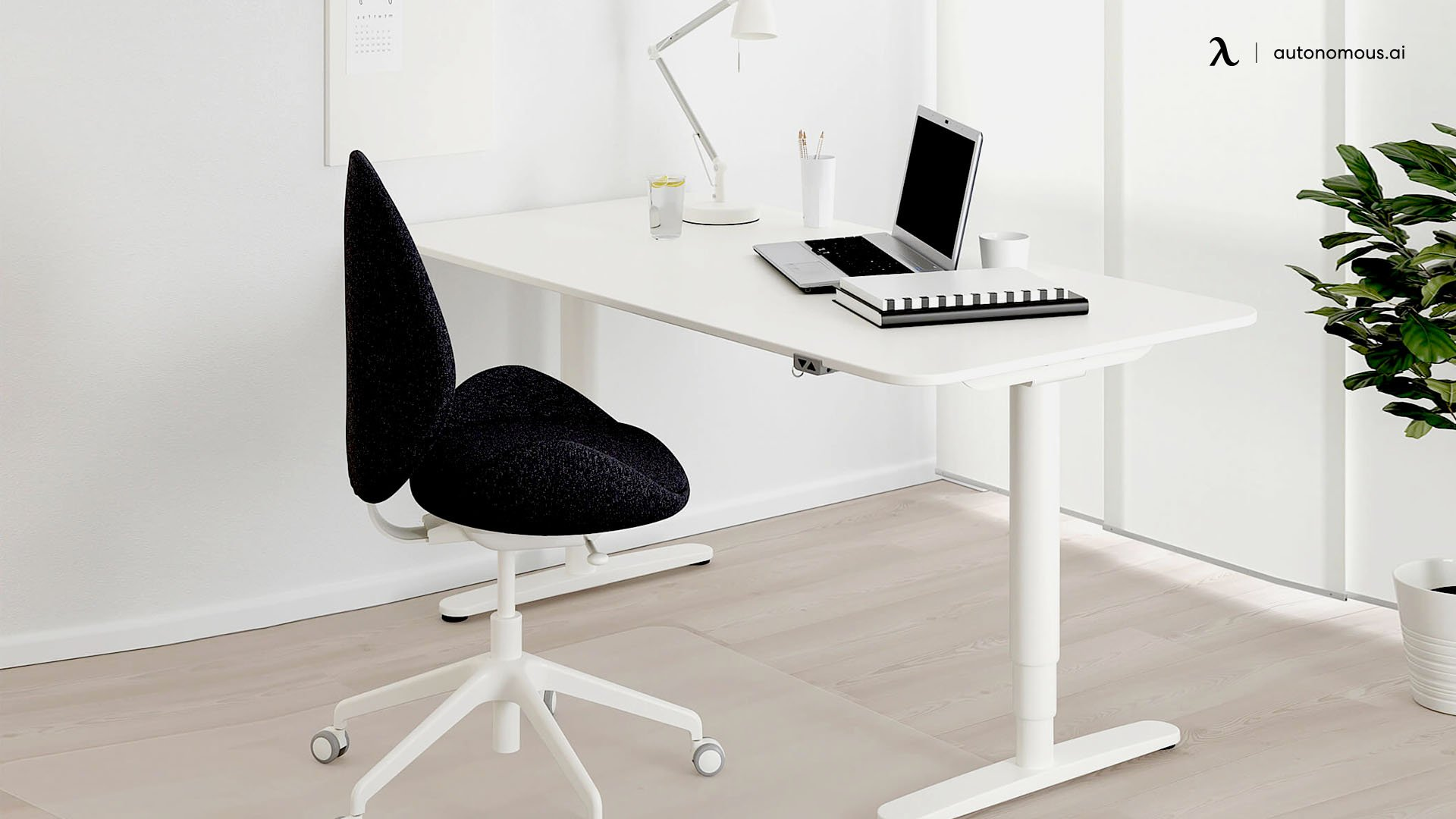 IKEA Bekant Sit-stand Desk