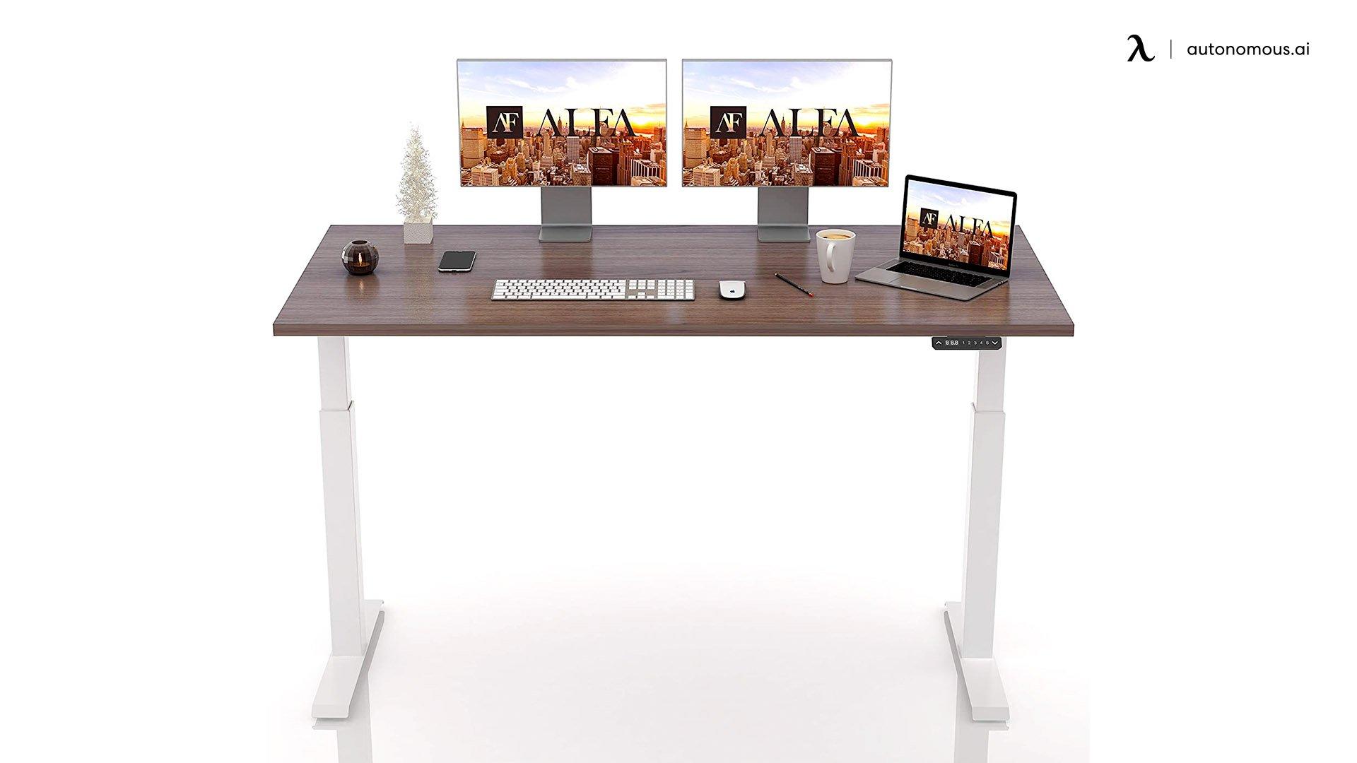 ALFA Furnituring Upgraded Stand Desk