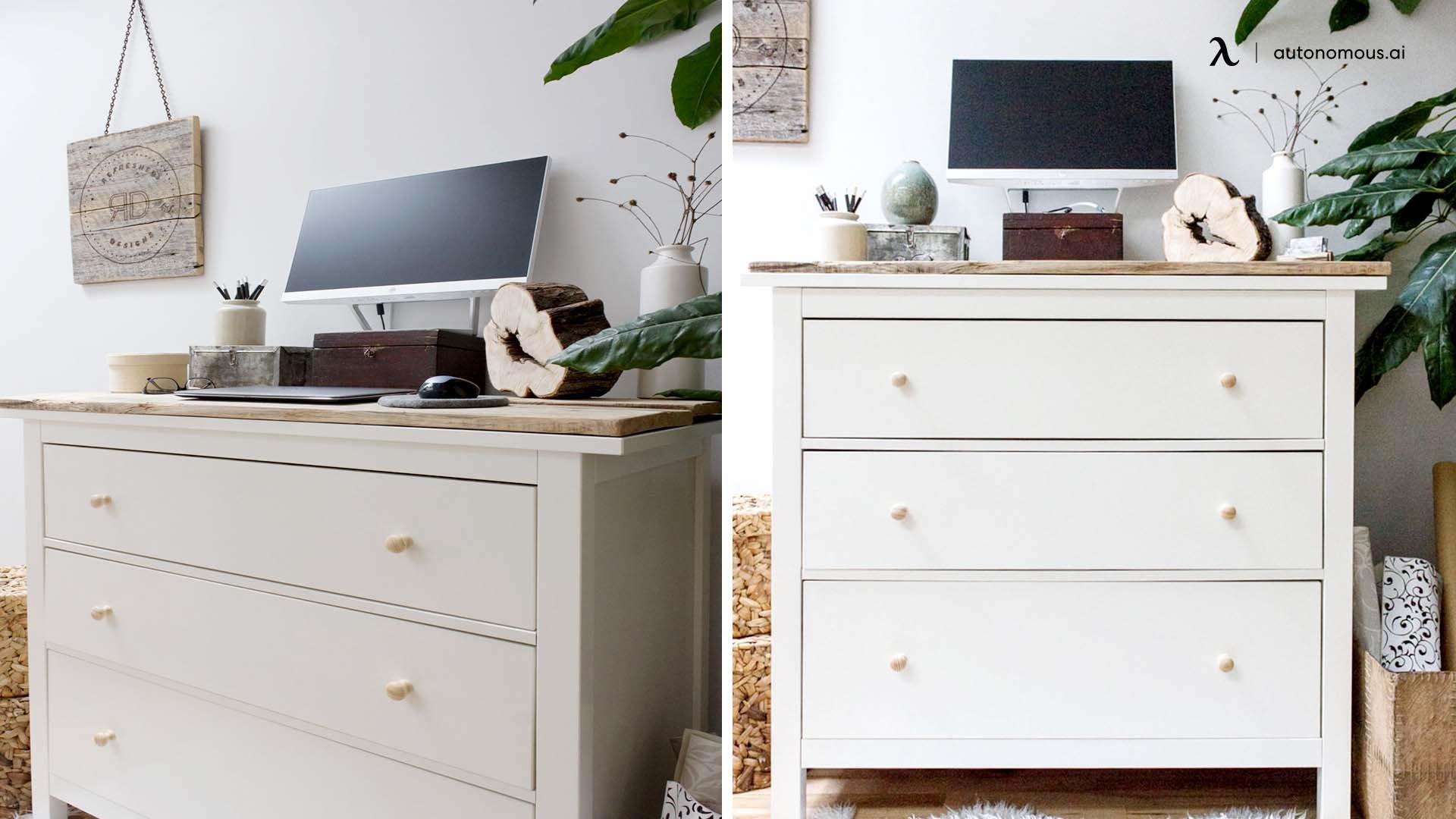 Standing Dresser Desk