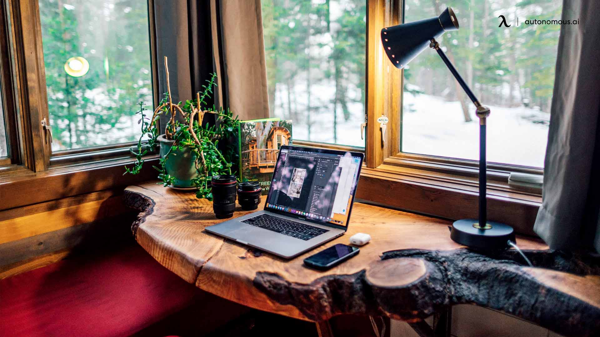 Ways To Bring Nature Into Your Home Office