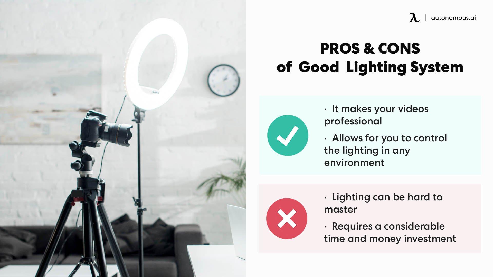 A Good Lighting System