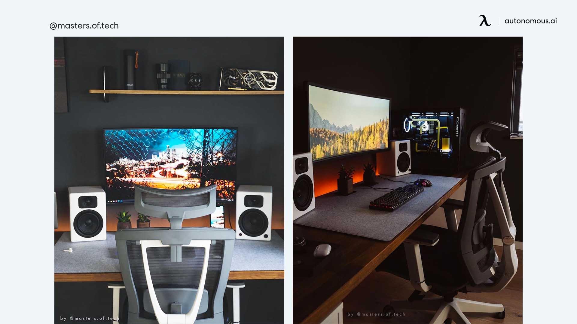 Productivity-Booster Black Minimal Workstation