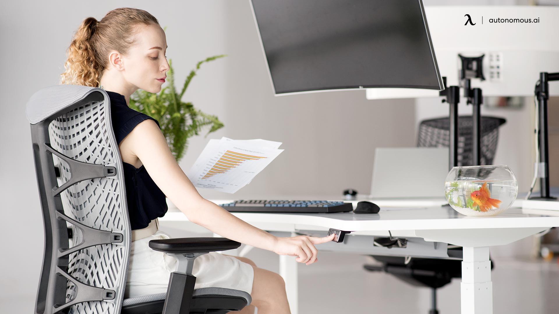 Switching between Sitting and Standing