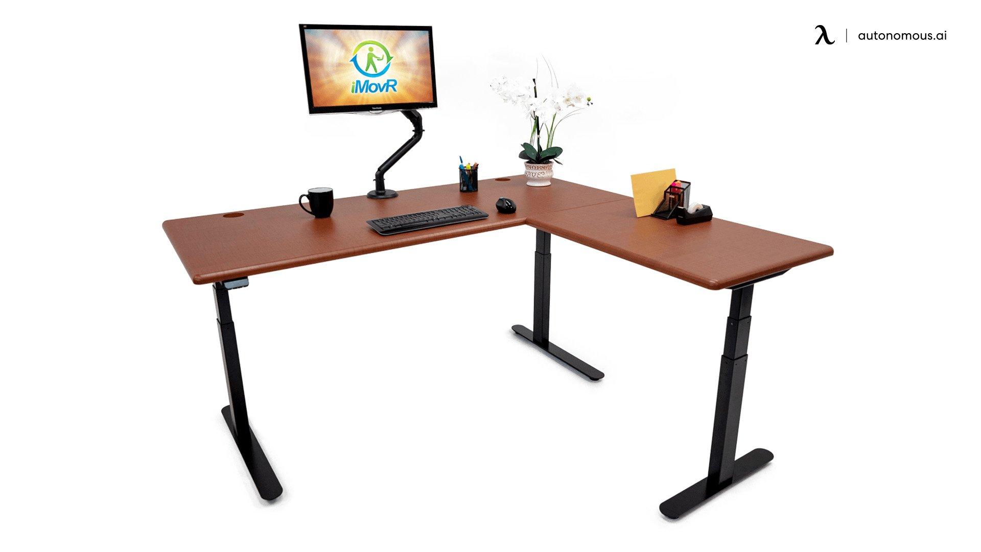 iMovR Lander L-Shaped Standing Desk