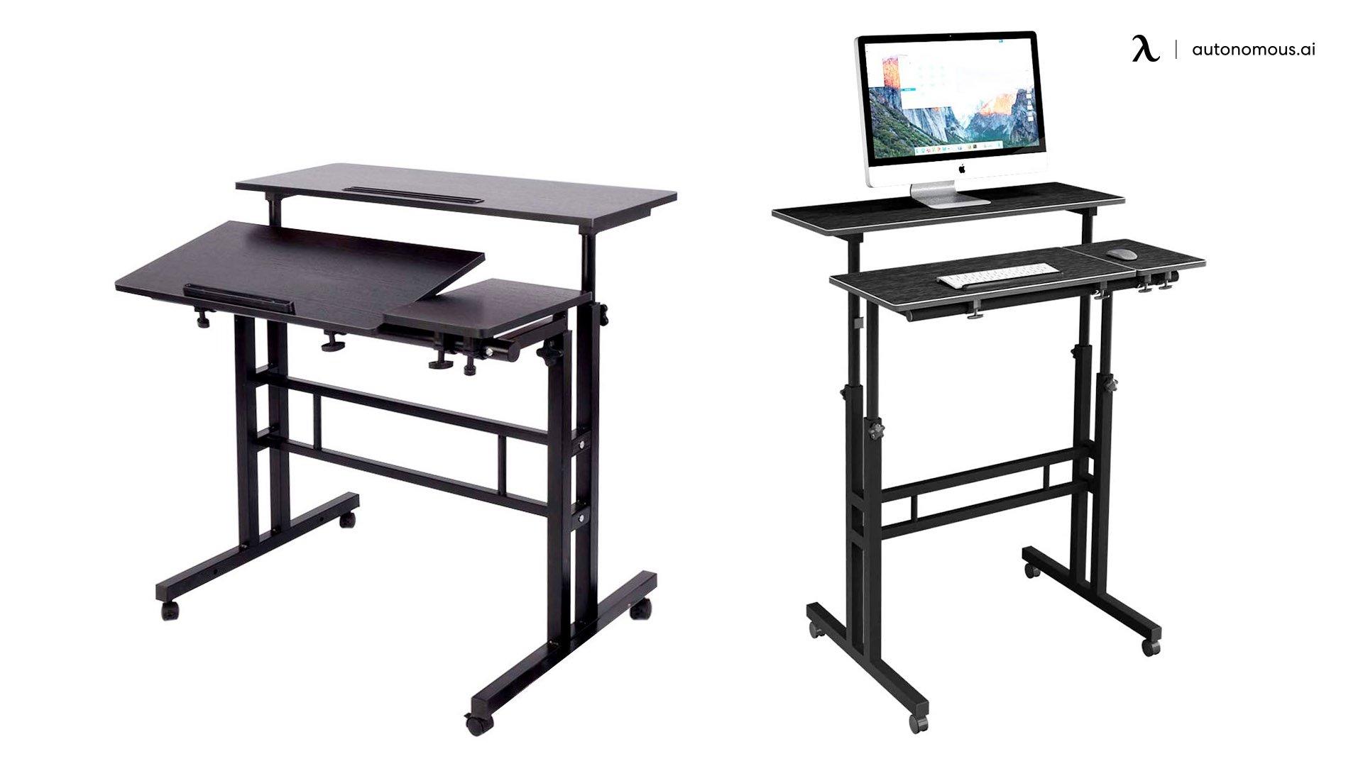 DlandHome Adjustable Standing Desk UK